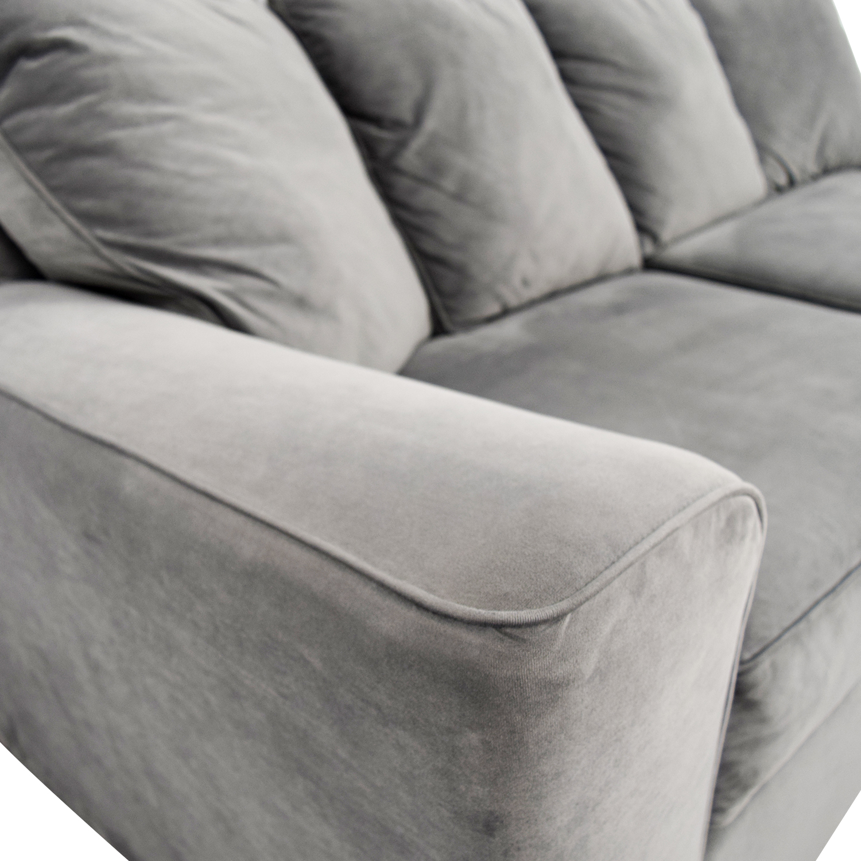 Jennifer Convertible Jennifer Convertible Microfiber Sofa discount