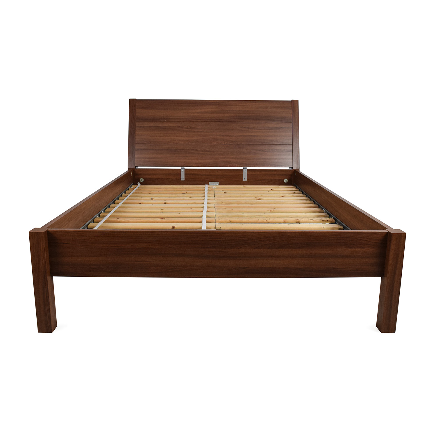 67% OFF - IKEA IKEA Full Size Brown Bed Frame / Beds