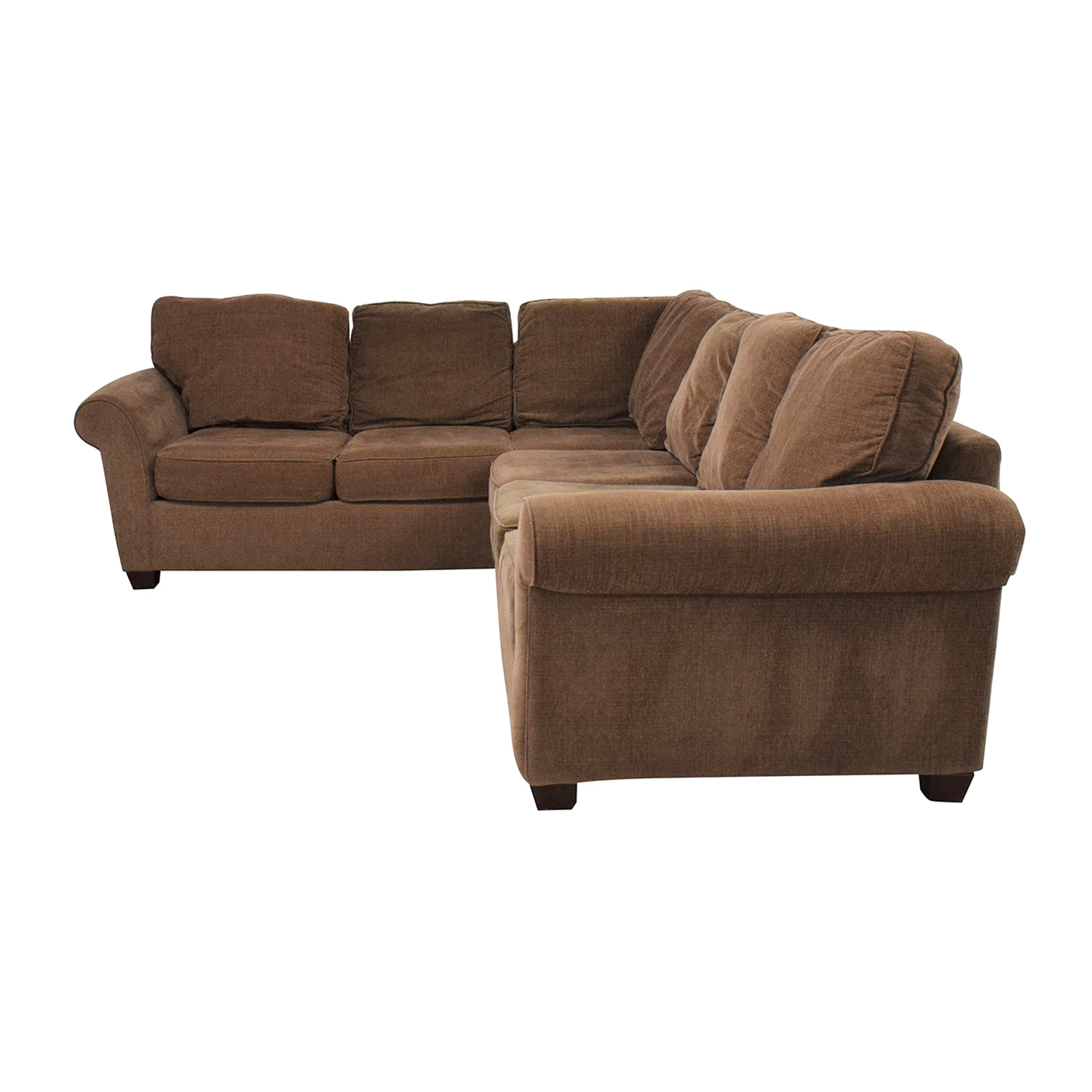 Raymour & Flanigan Raymour & Flanigan Corner Sectional dimensions