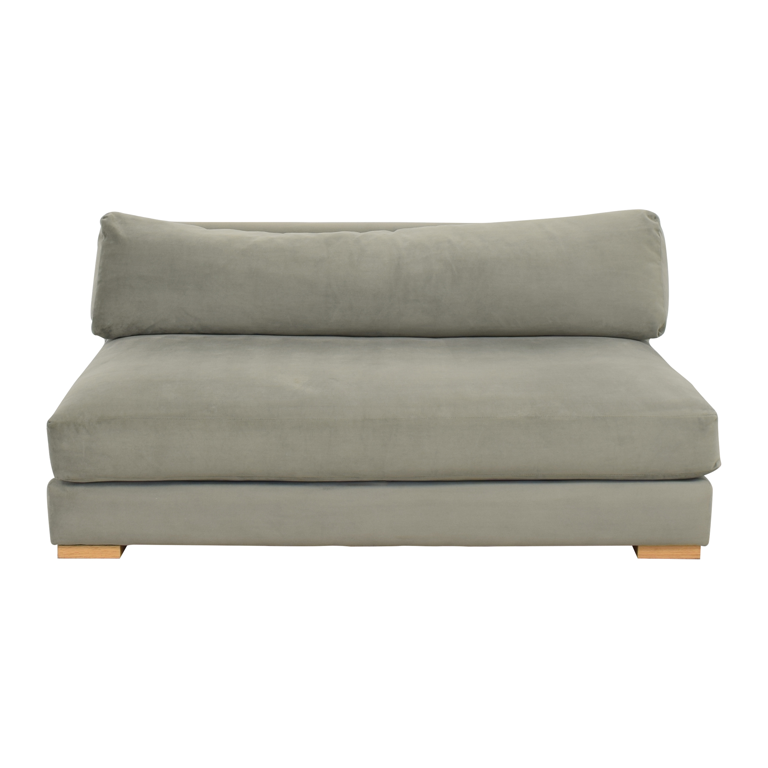 CB2 CB2 Piazza Apartment Sofa dimensions