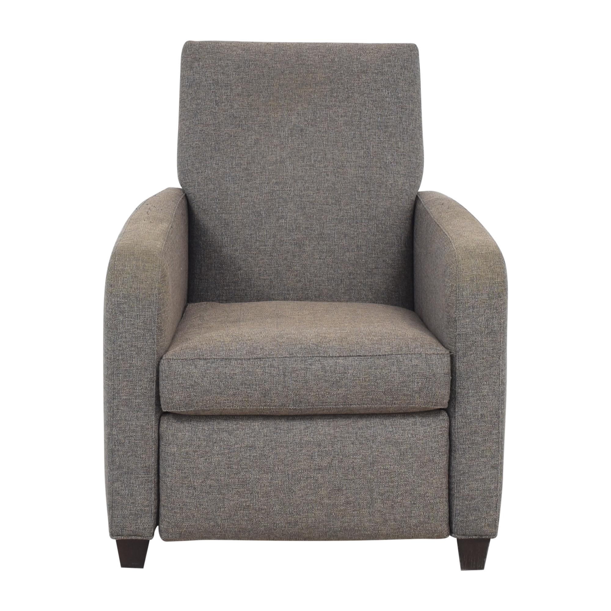 buy Crate & Barrel Royce Recliner Crate & Barrel Chairs