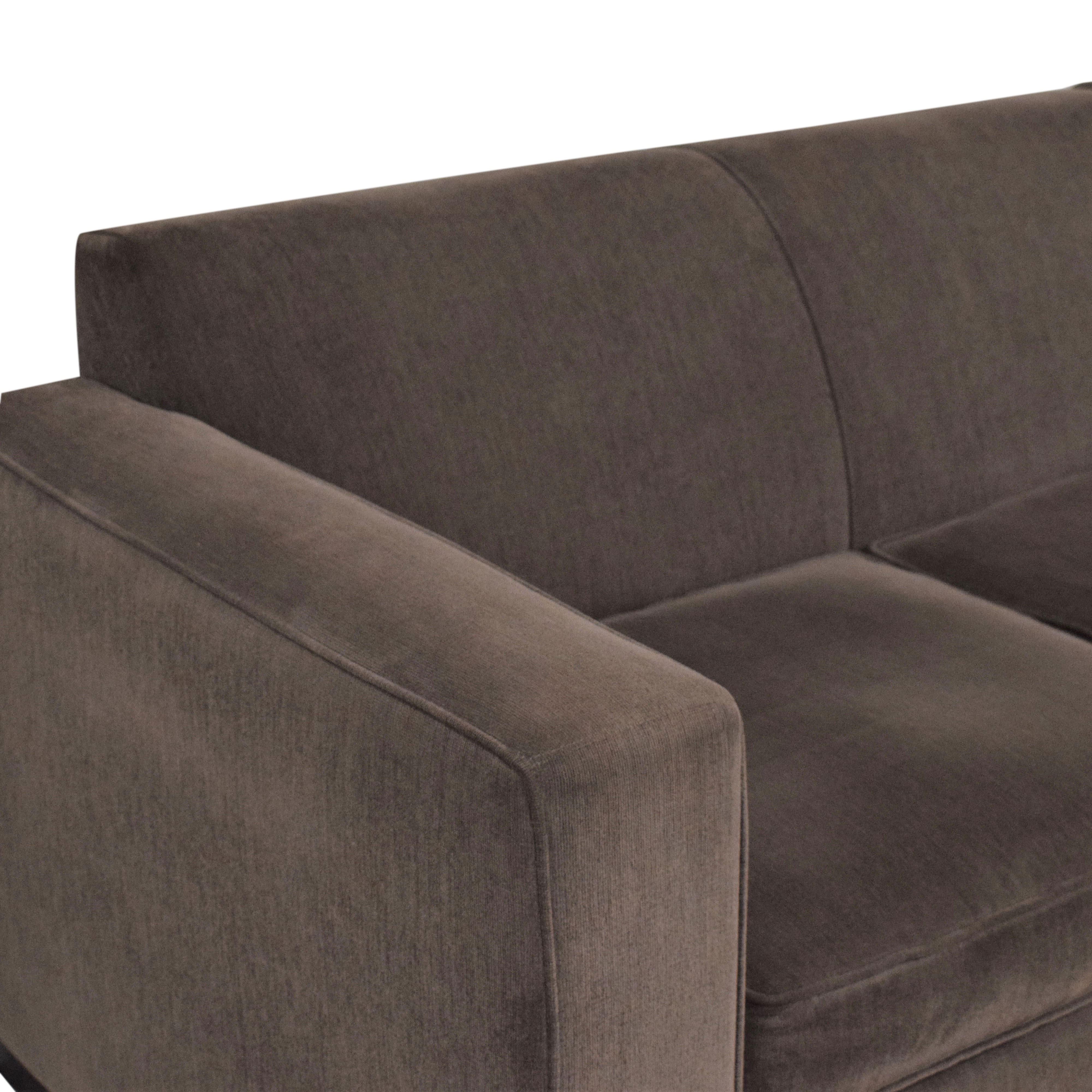 buy Room & Board Morrison Sectional Sofa Room & Board Sectionals