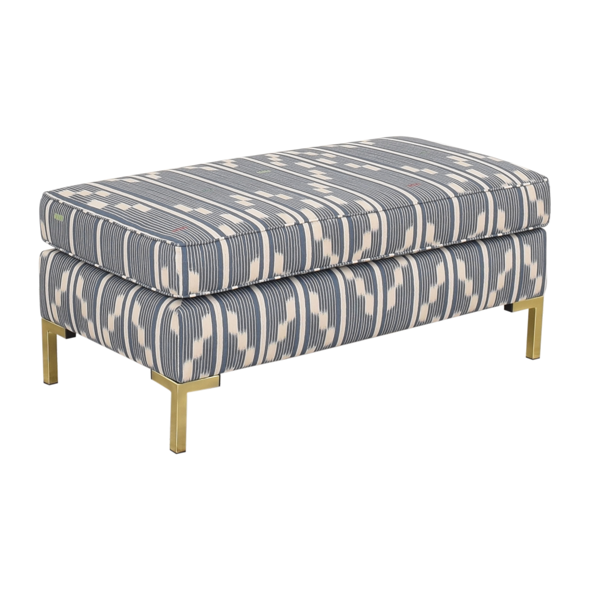 The Inside The Inside Modern Bench in Linea Ikat discount