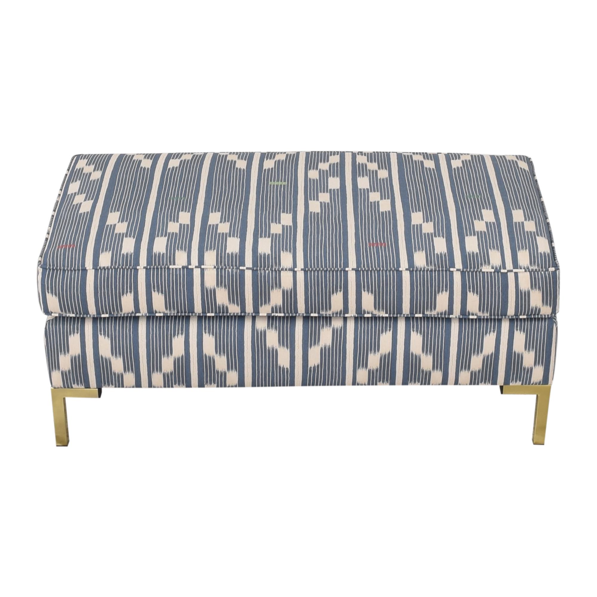 The Inside Modern Bench in Linea Ikat sale