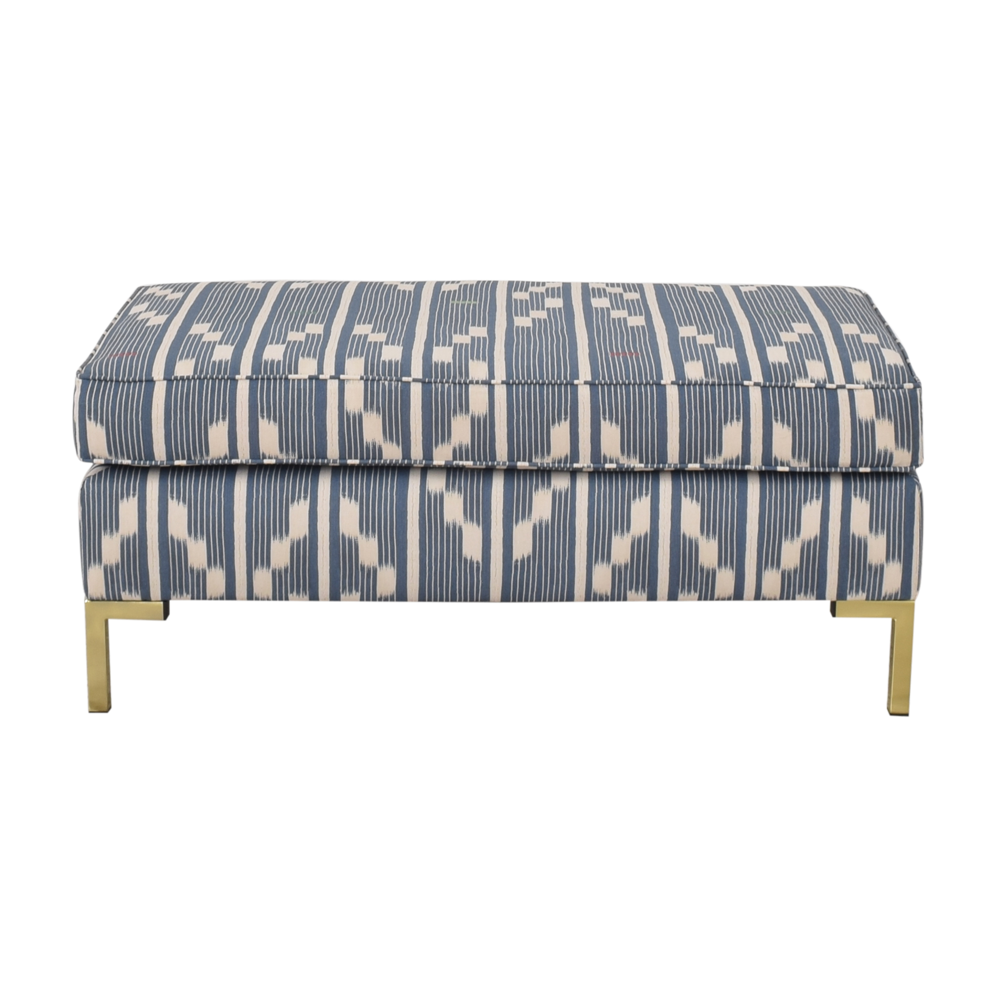 buy The Inside Modern Bench in Linea Ikat The Inside Chairs