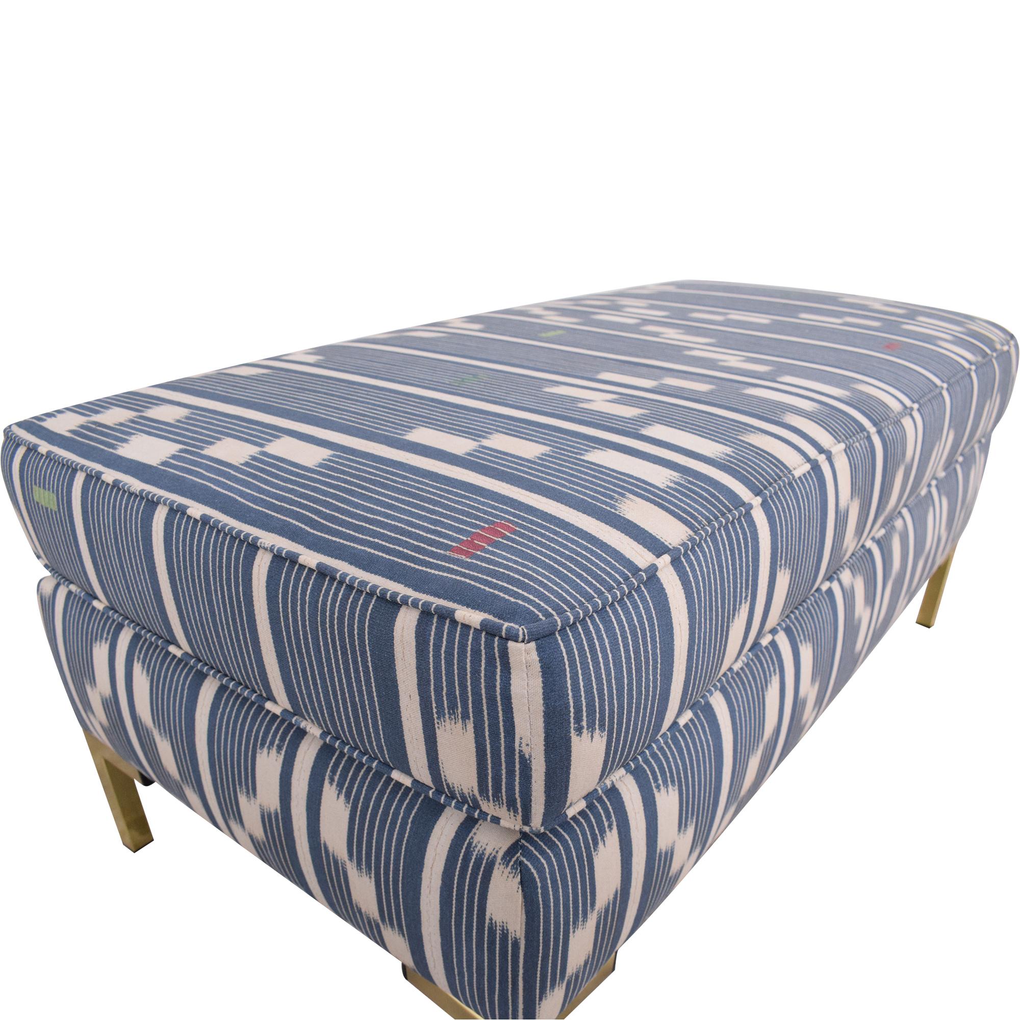 buy The Inside Modern Bench in Linea Ikat The Inside