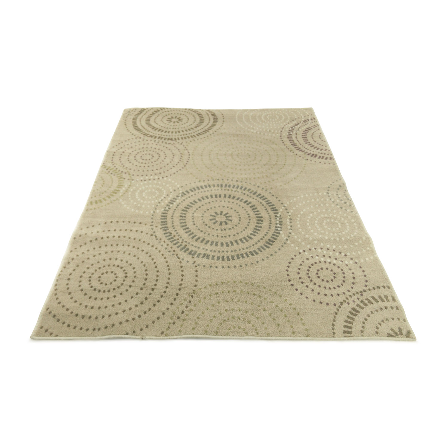 Wonderful 57% OFF - Next Next Grey and White Rug / Decor CC96
