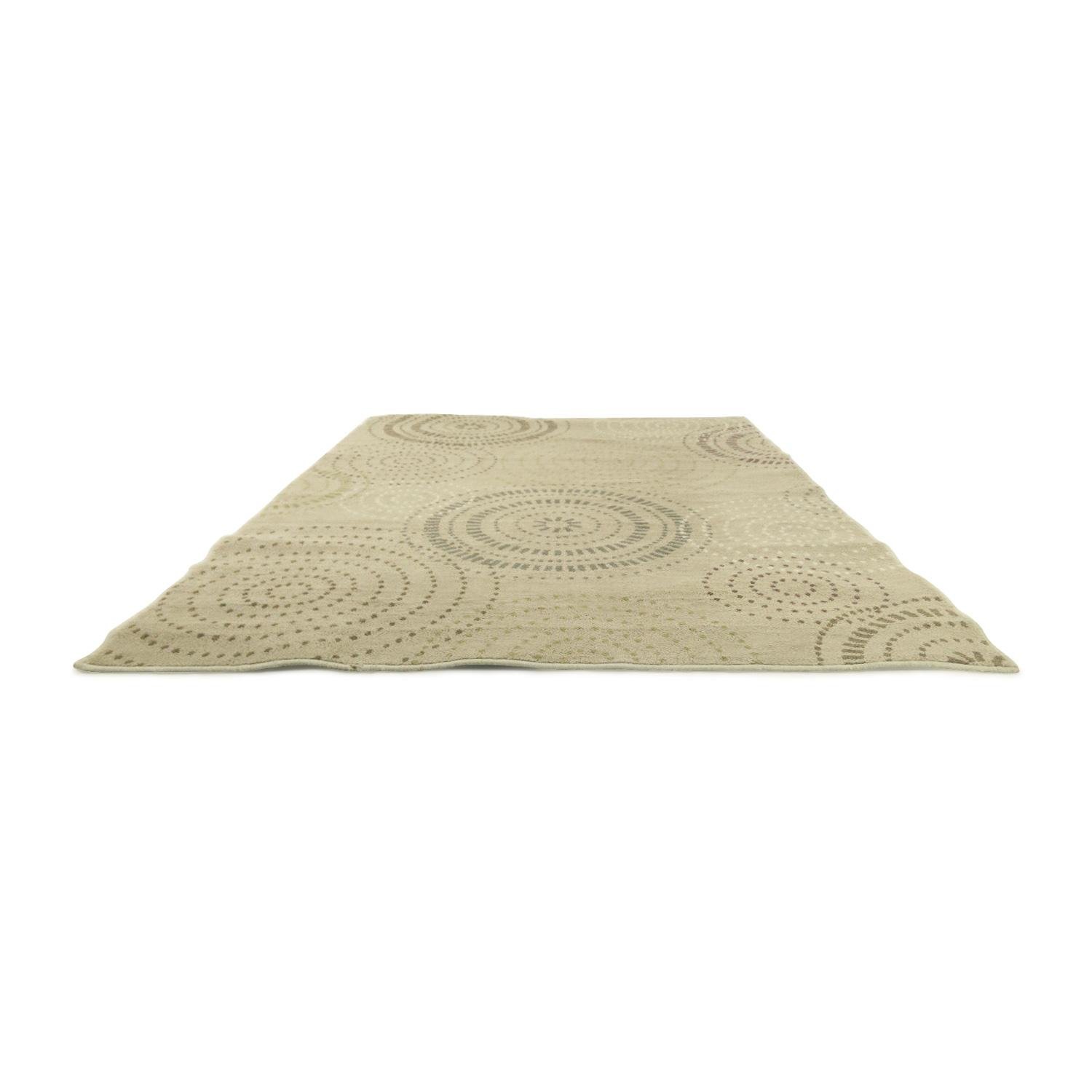 shop Circle Pattern Area Rug Unknown Brand Rugs
