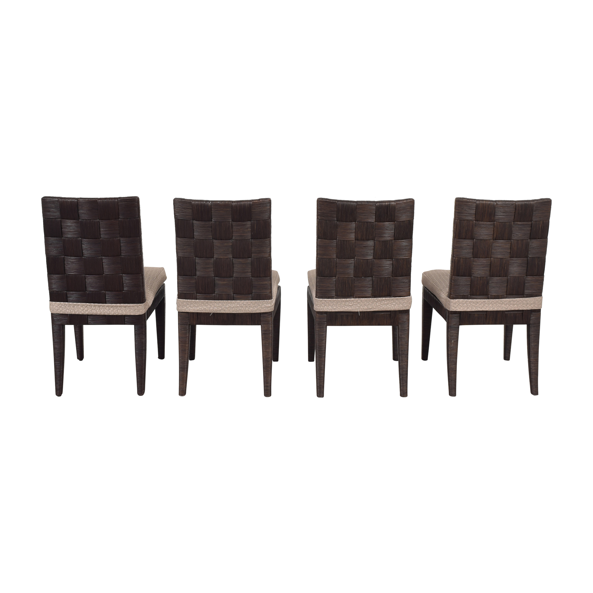buy Donghia John Hutton Block Island Side Dining Chairs Donghia Dining Chairs