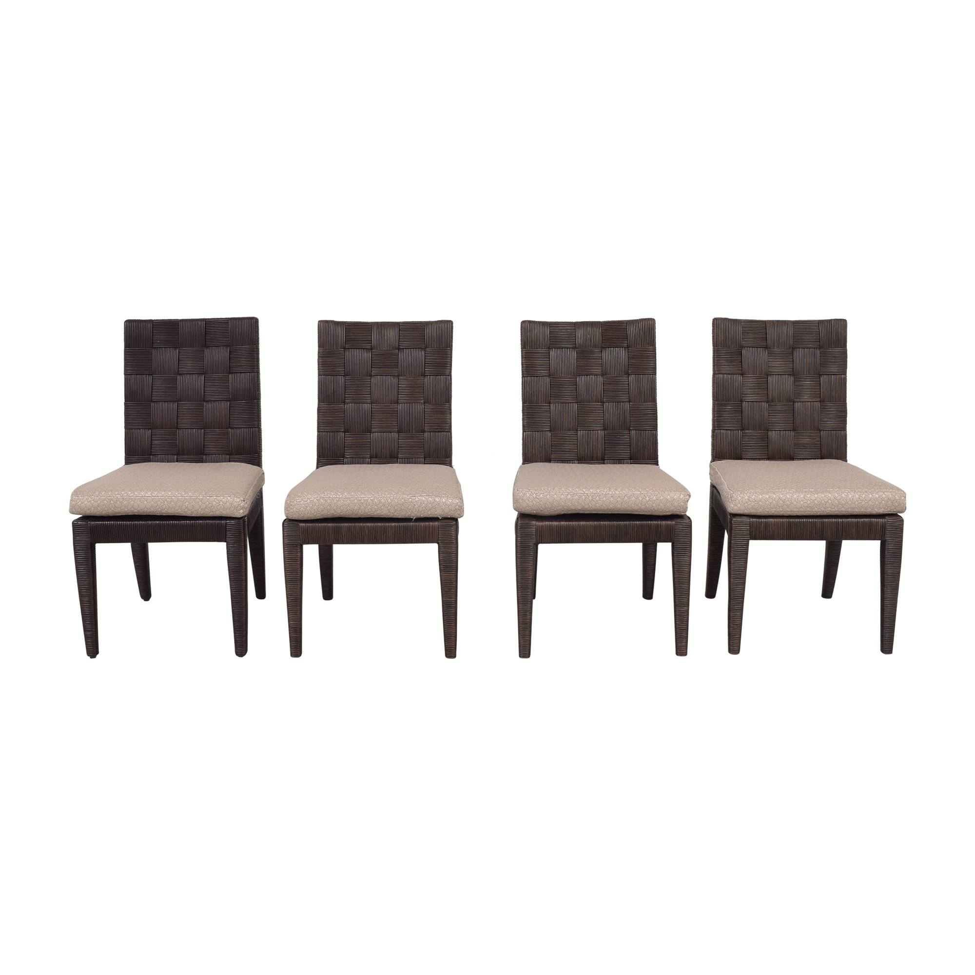 Donghia Donghia John Hutton Block Island Side Dining Chairs Dining Chairs