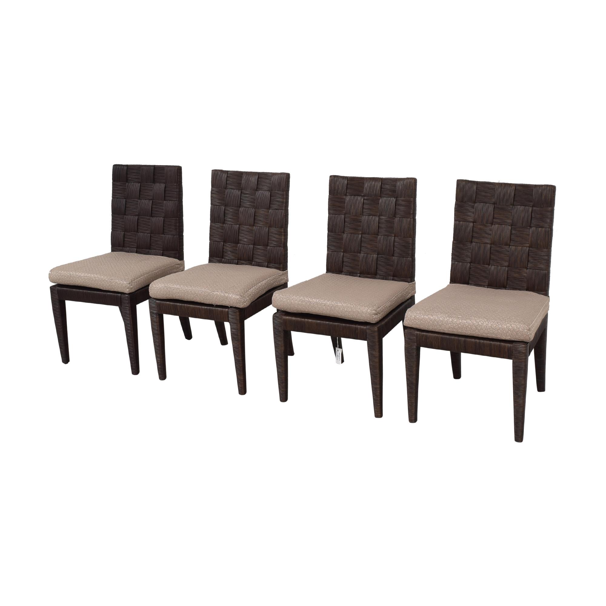 shop Donghia John Hutton Block Island Side Dining Chairs Donghia Chairs