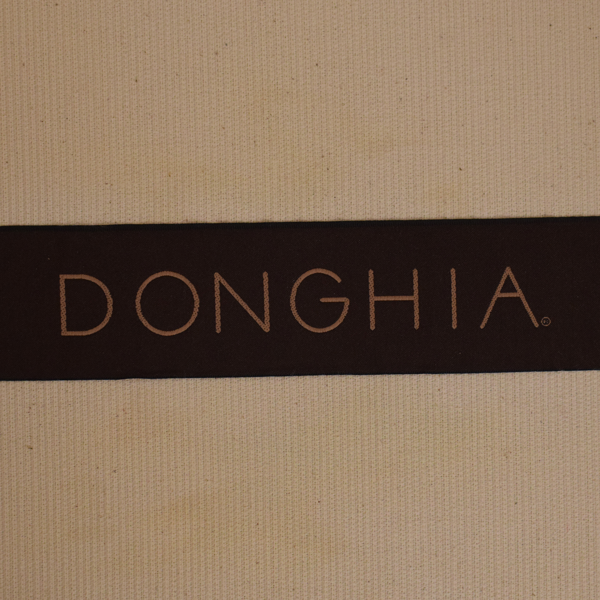 Donghia Donghia by John Hutton Mahogany and Wicker Lounger on sale