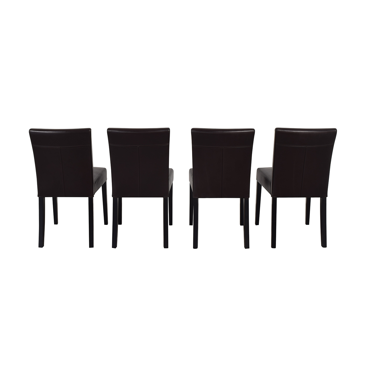 Crate & Barrel Crate & Barrel Lowe Dining Chairs for sale