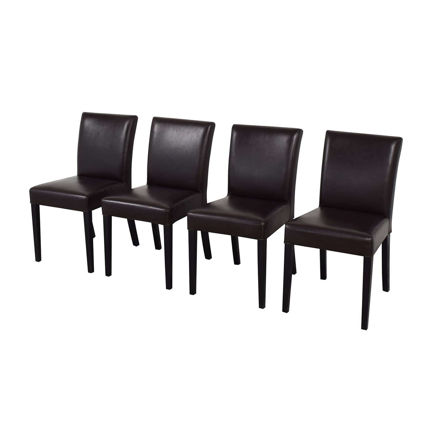 Crate & Barrel Crate & Barrel Lowe Dining Chairs nyc