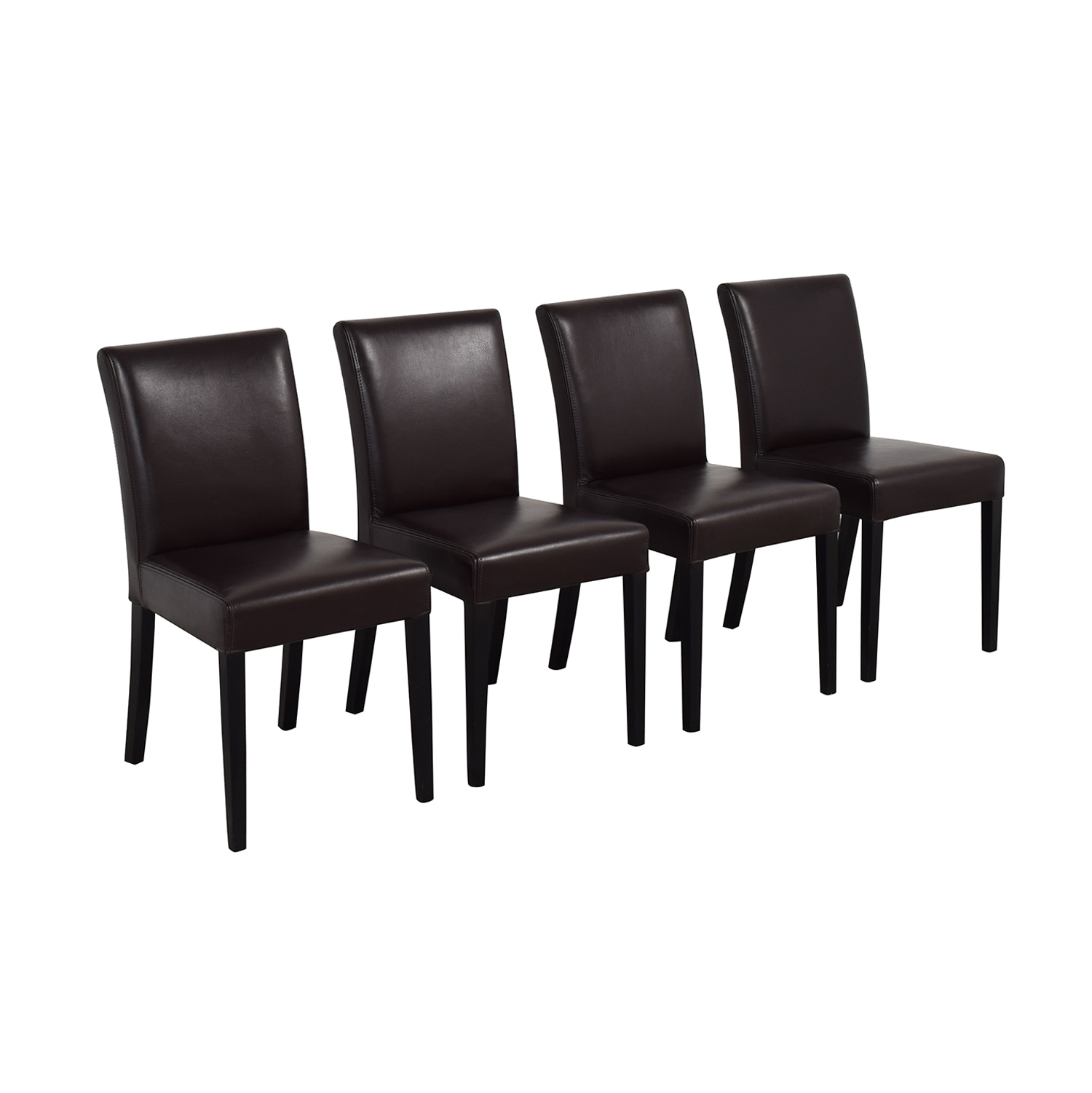 Crate & Barrel Crate & Barrel Lowe Dining Chairs nj