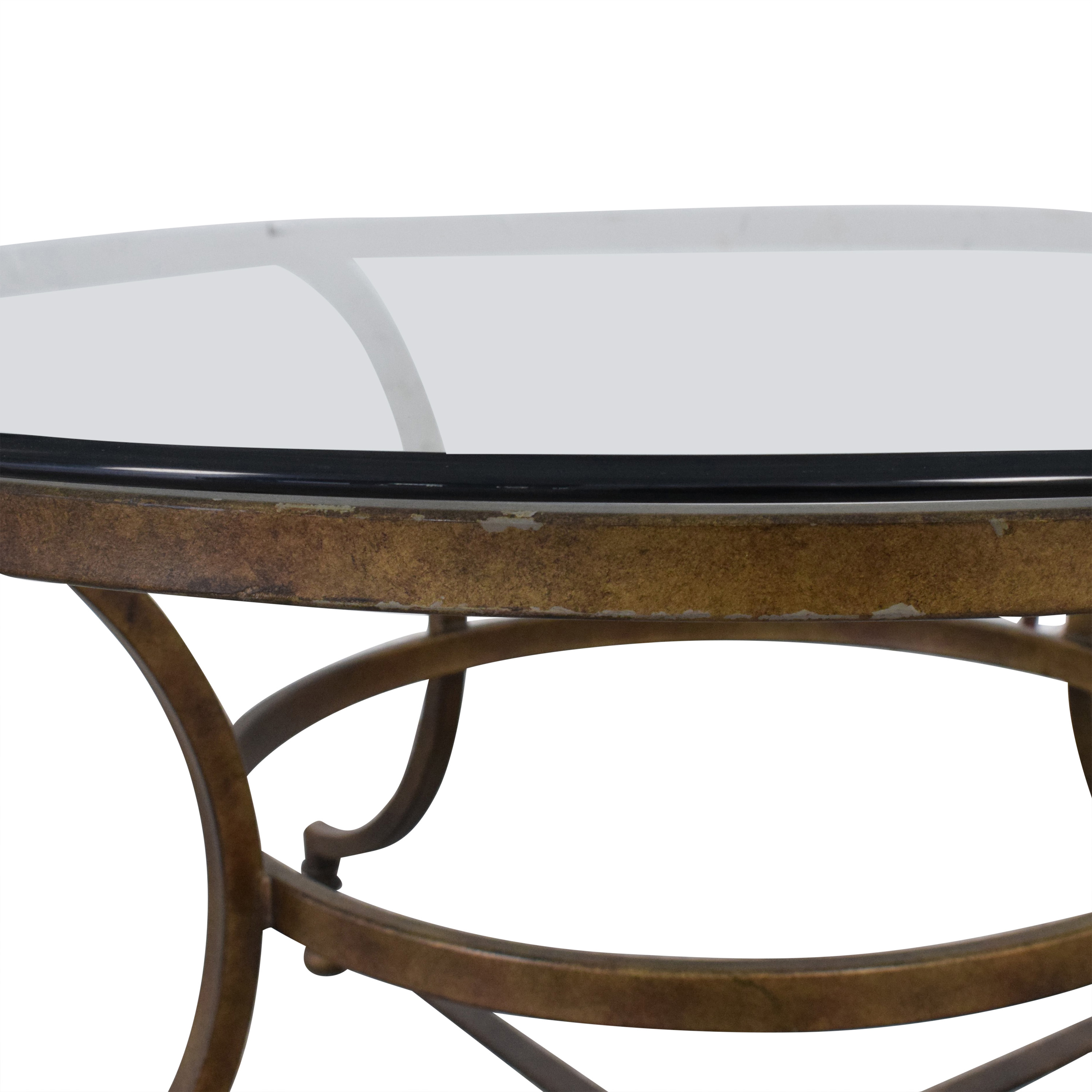 buy Round Glass Coffee Table Thomasville