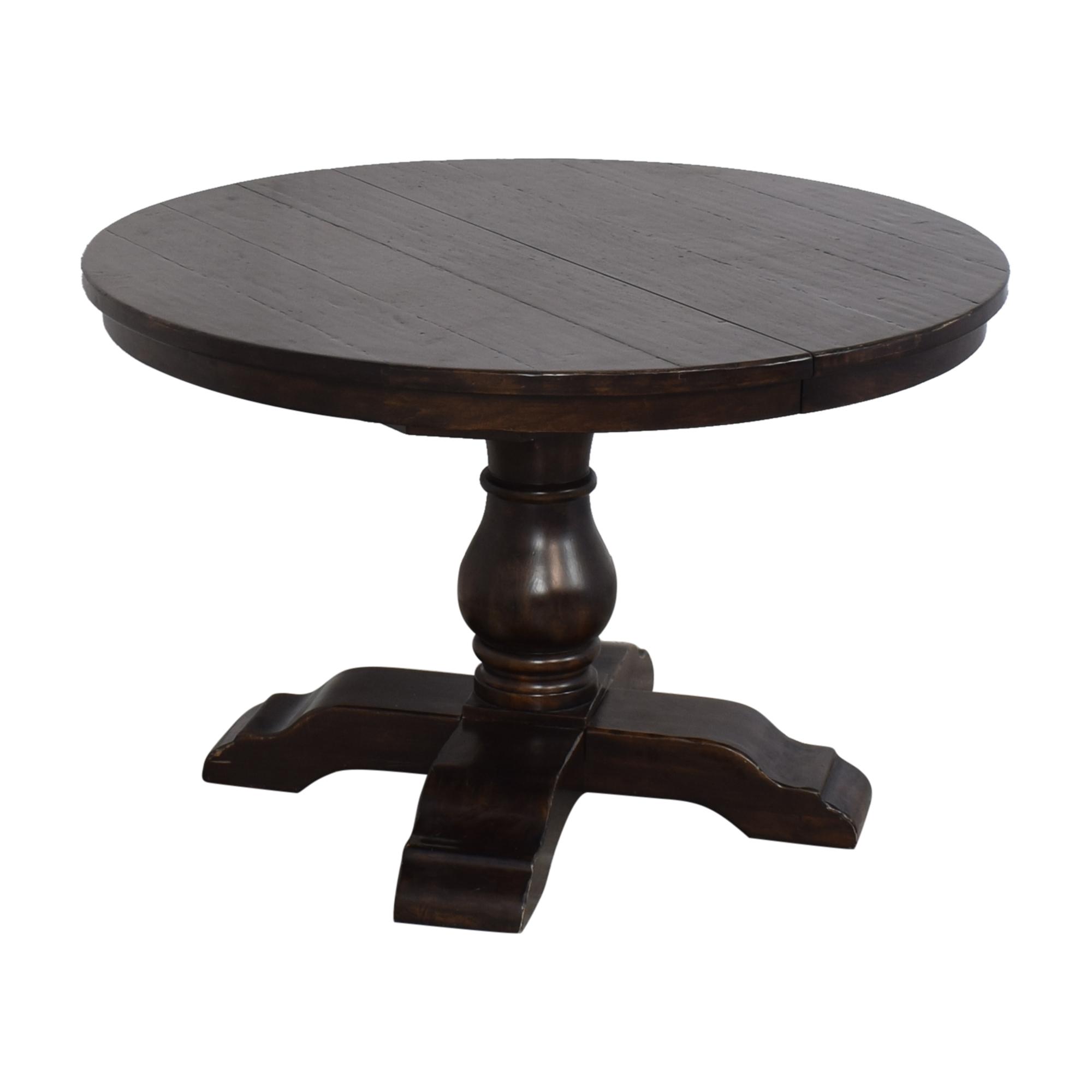 3% OFF - Pottery Barn Pottery Barn Cortona Extending Pedestal Dining Table  / Tables