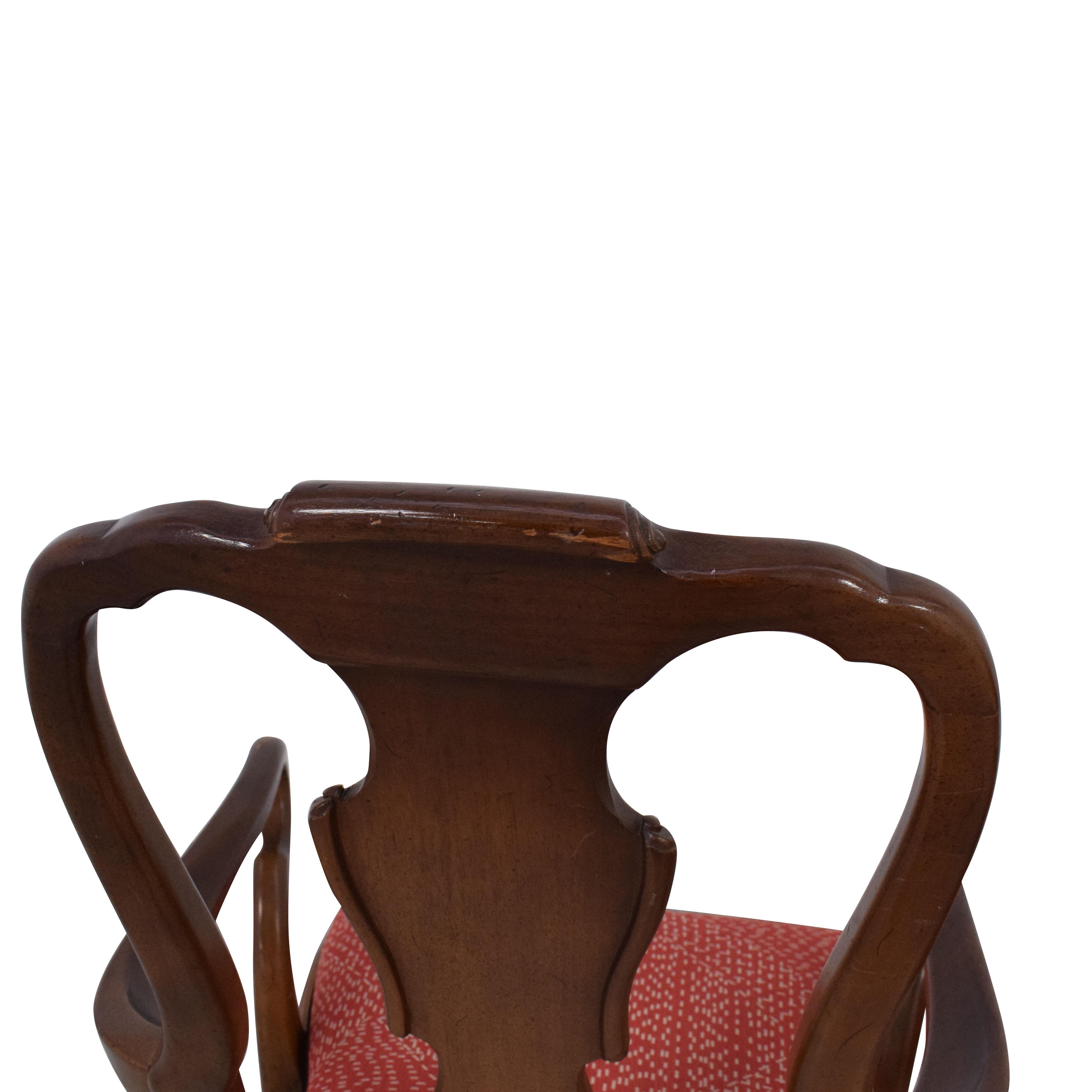 Henredon Furniture Henredon Queen Anne Chairs