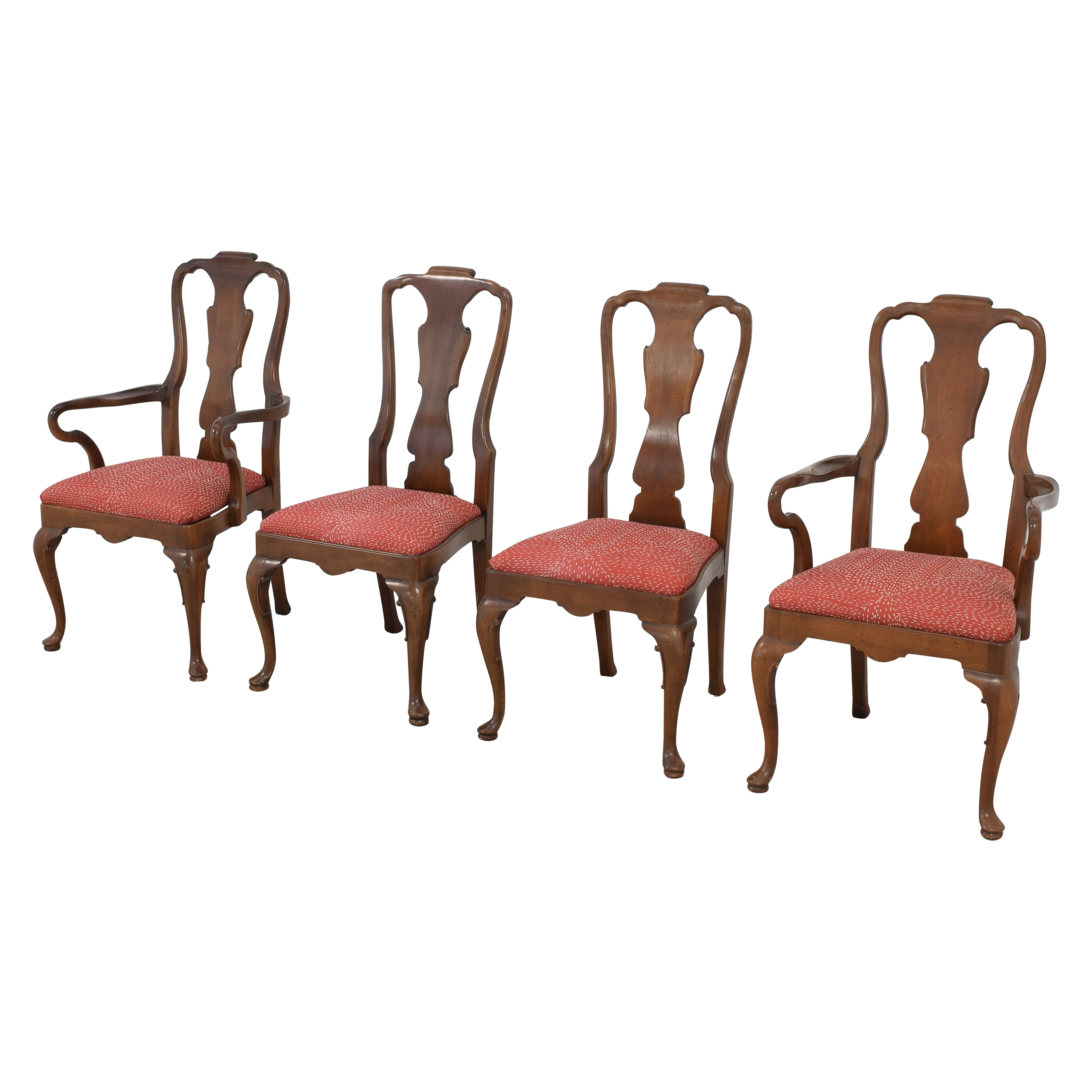 buy Henredon Queen Anne Chairs Henredon Furniture Dining Chairs