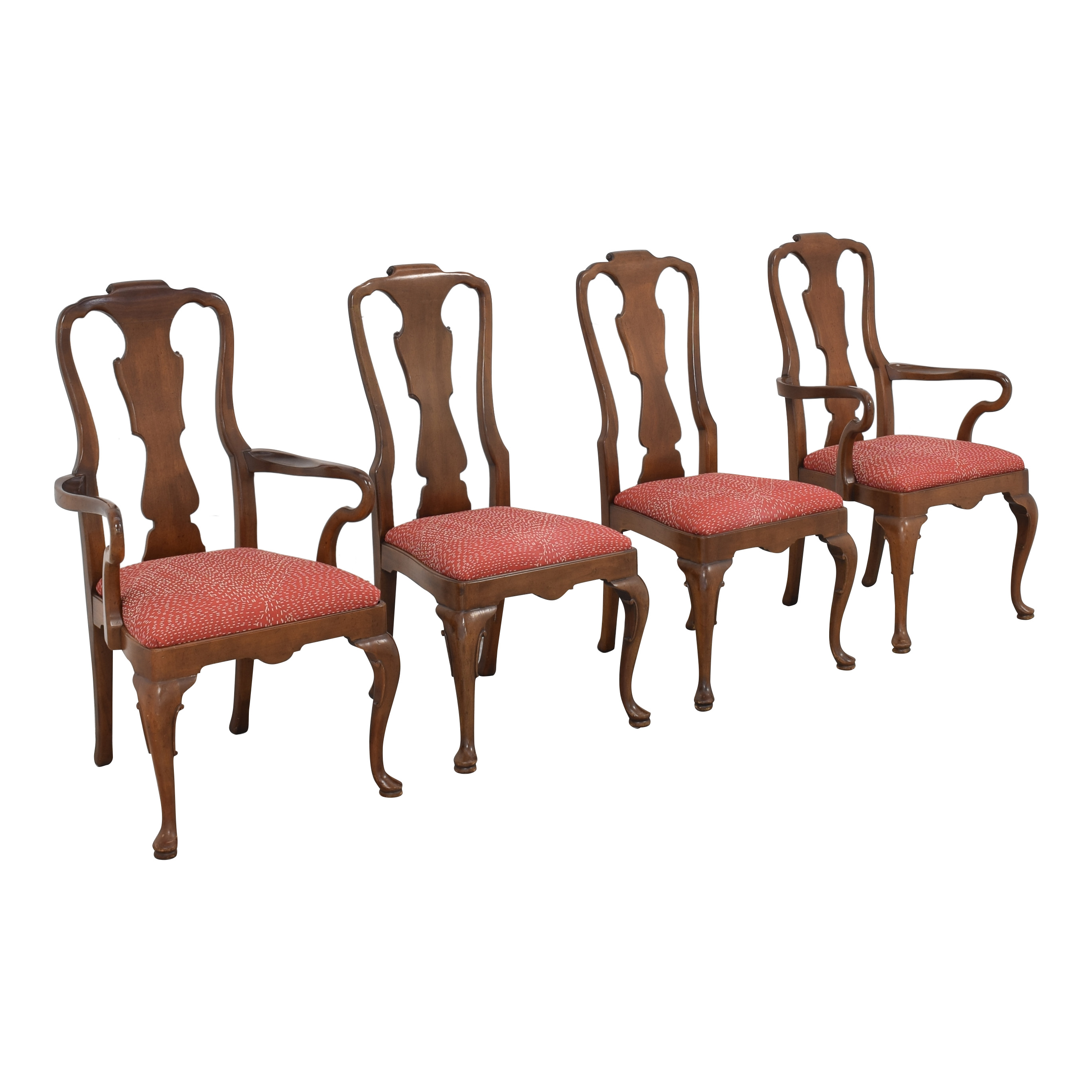 Henredon Furniture Henredon Queen Anne Chairs dimensions