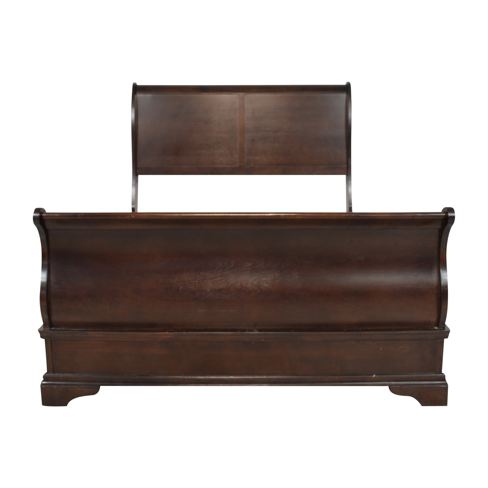 Raymour & Flanigan Raymour & Flanigan Charleston Queen Sleigh Bed dimensions