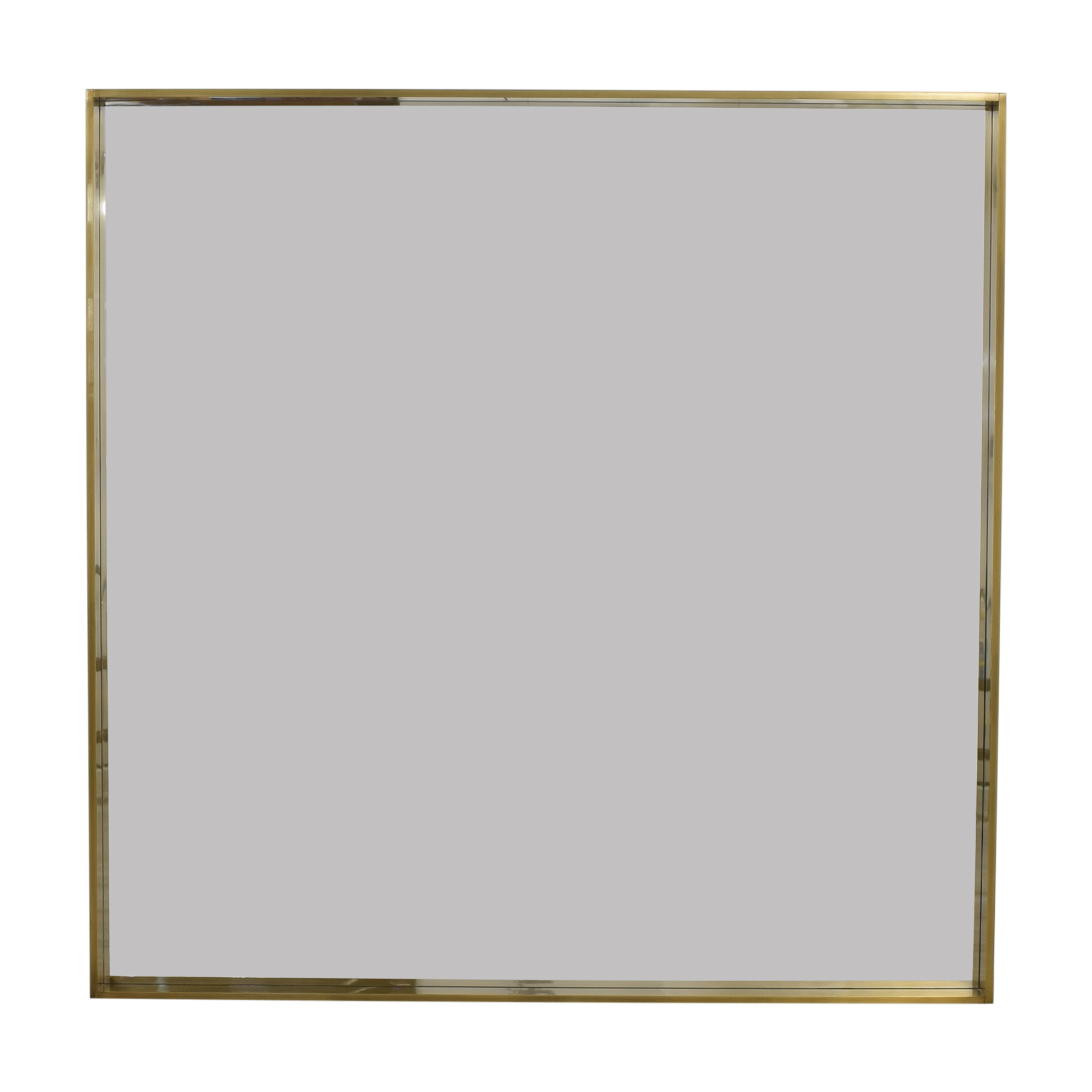 Restoration Hardware Restoration Hardware Metal Floating Mirror ma