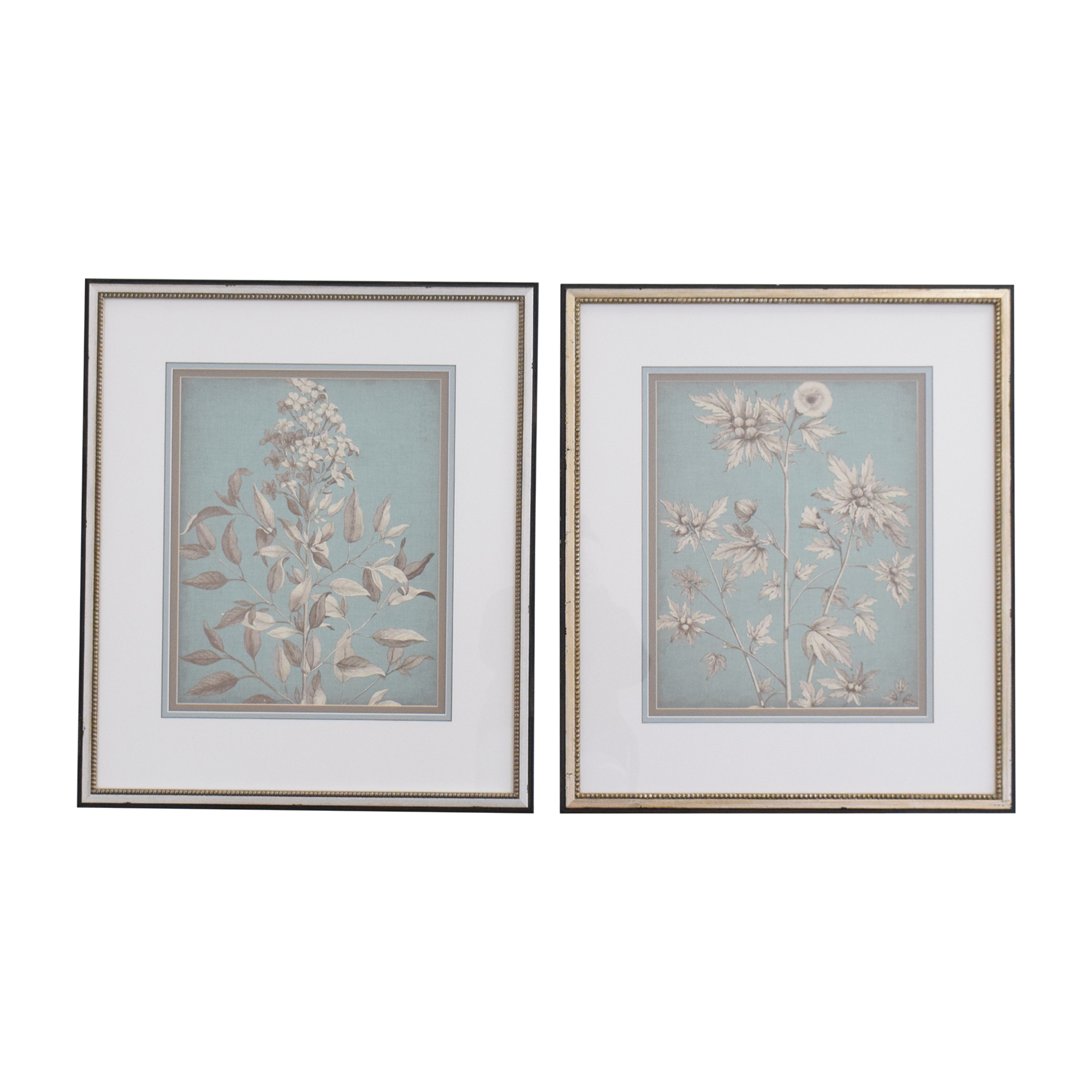 Ethan Allen Ethan Allen Pastel Chintz Collection Wall Art used