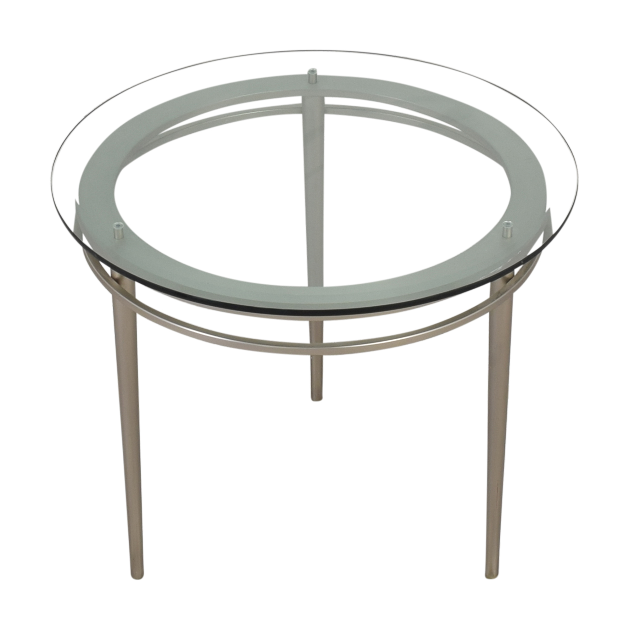 Ethan Allen Round Top Side Table / Tables