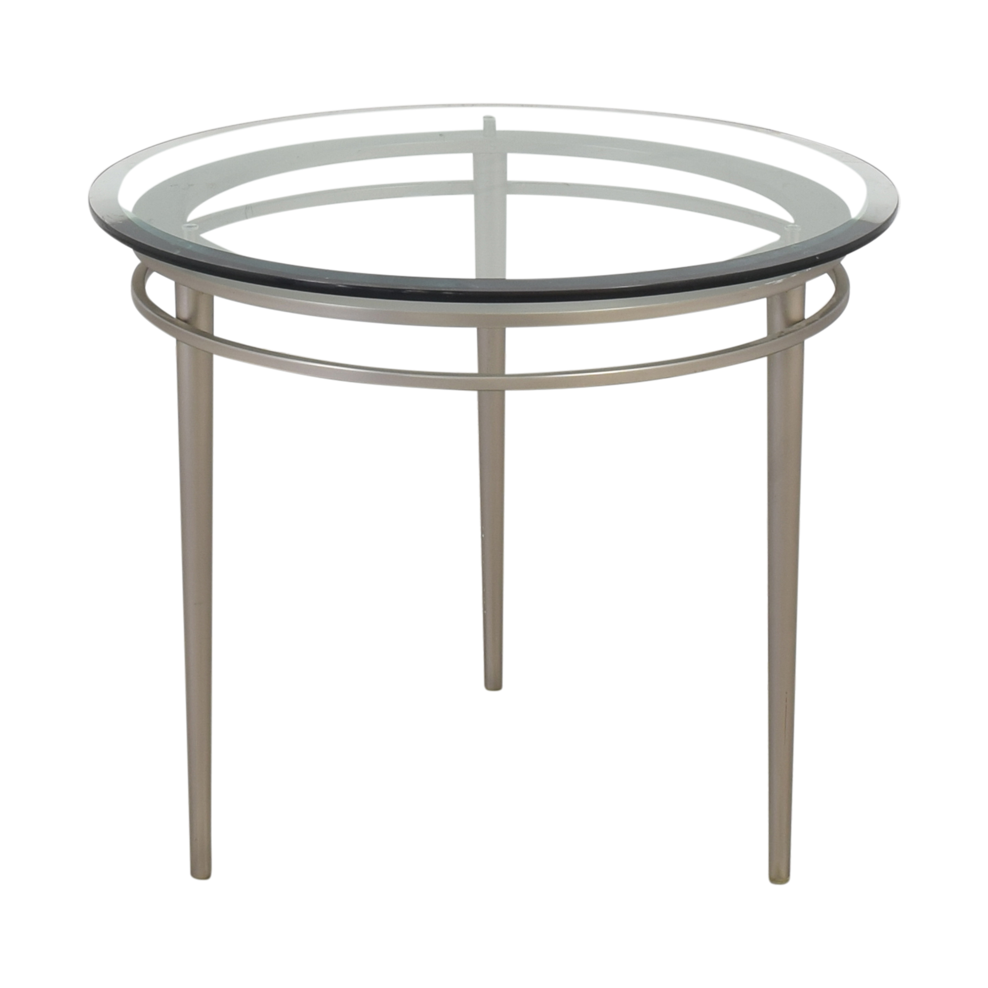 shop Ethan Allen Round Top Side Table Ethan Allen Accent Tables