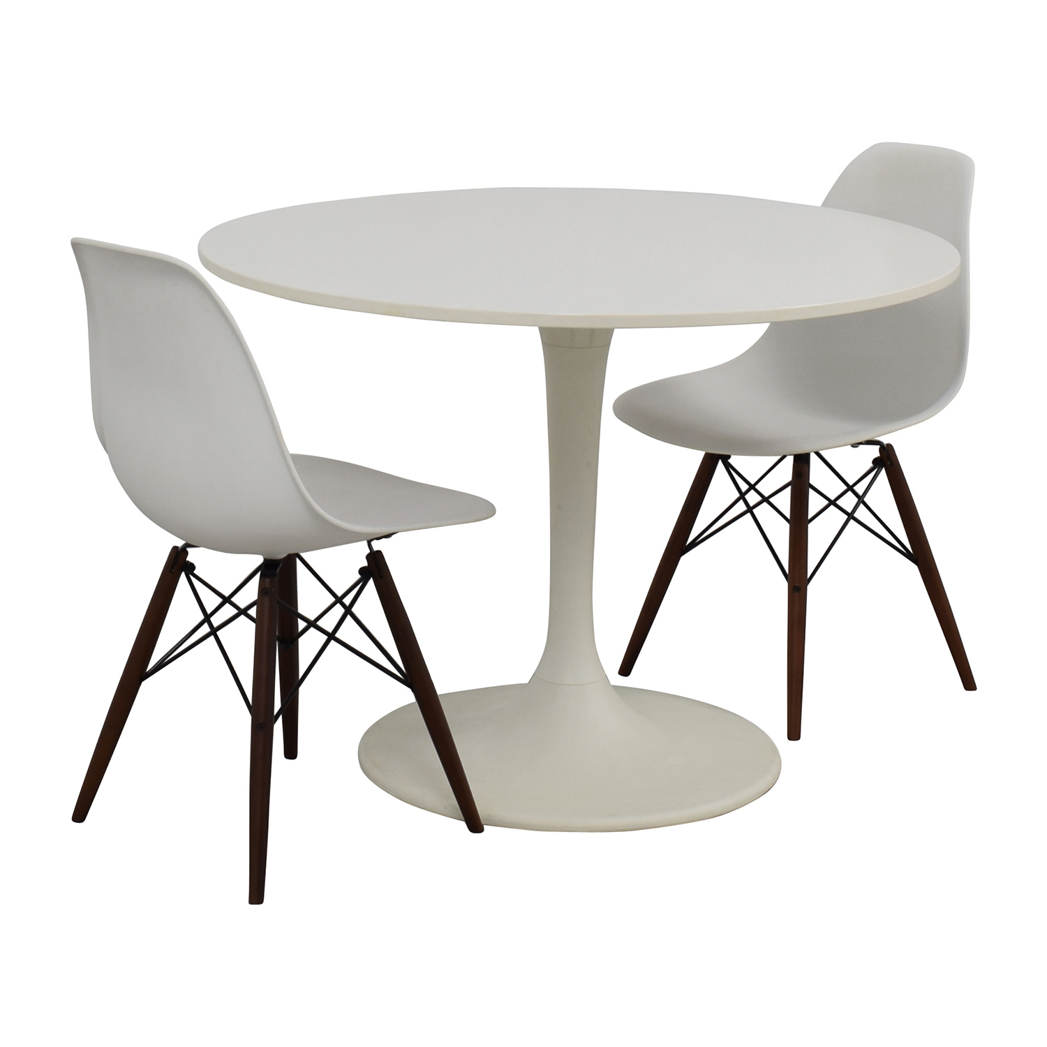 OFF Vortex Tulip Table And Vortex Chair Set Tables - Tulip chair and table set