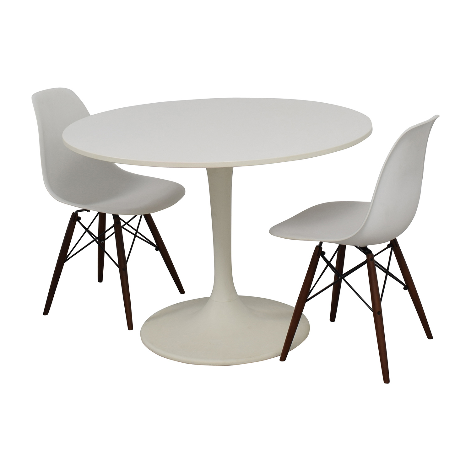 OFF Vortex Tulip Table And Vortex Chair Set Tables - Chairs for tulip table