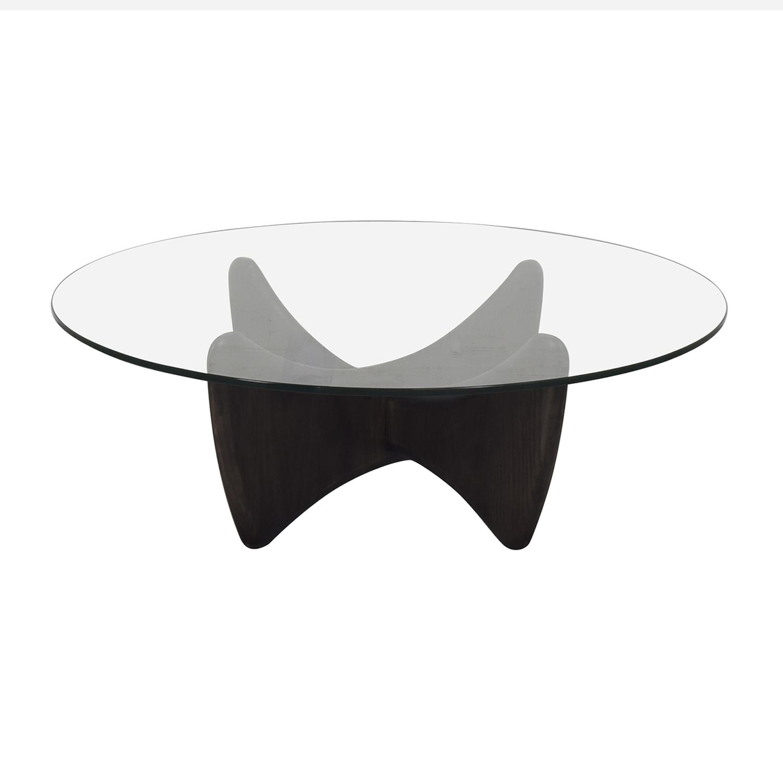 buy Room & Board Sanders Round Coffee Table Room & Board Coffee Tables