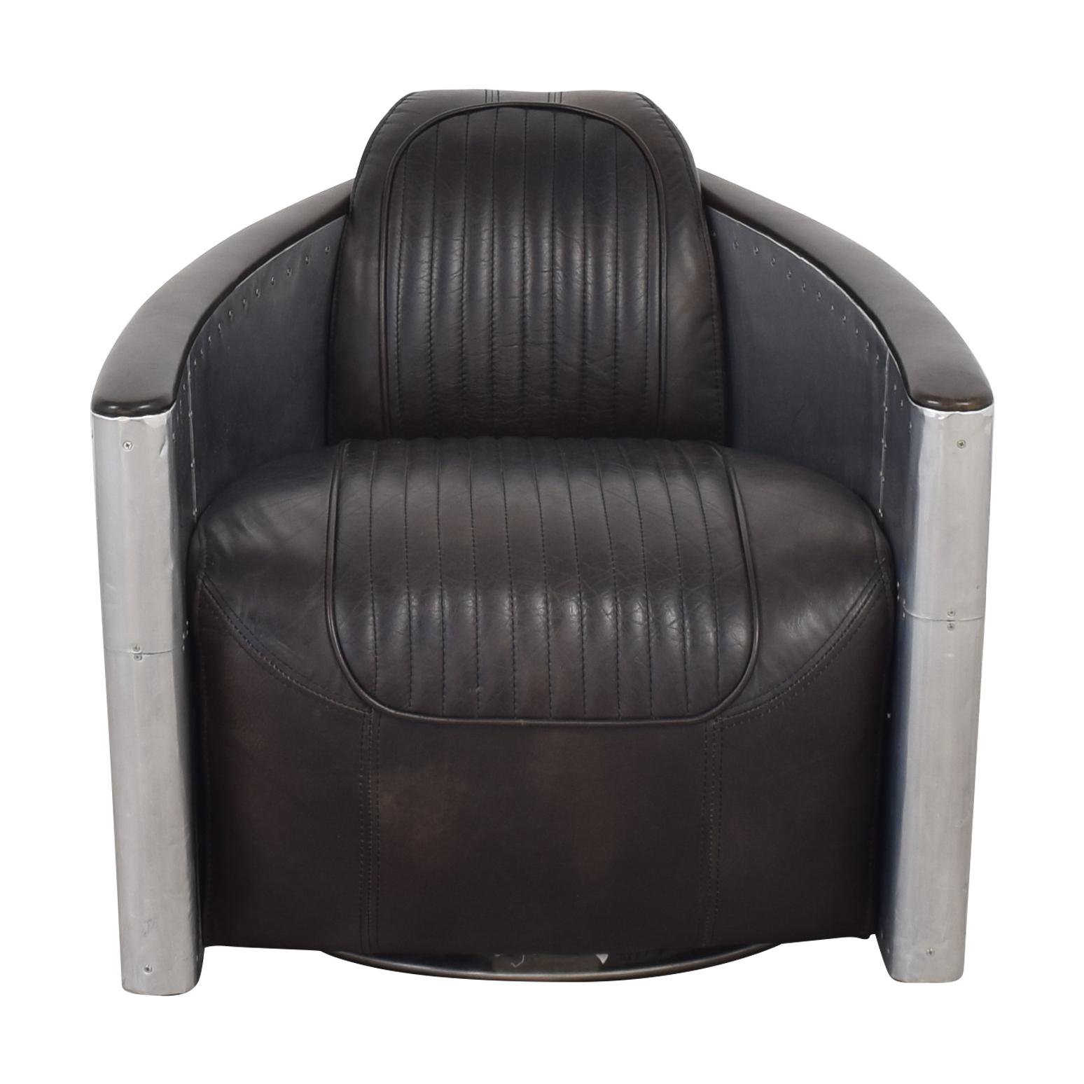 shop Restoration Hardware Aviator Armchair Restoration Hardware Accent Chairs