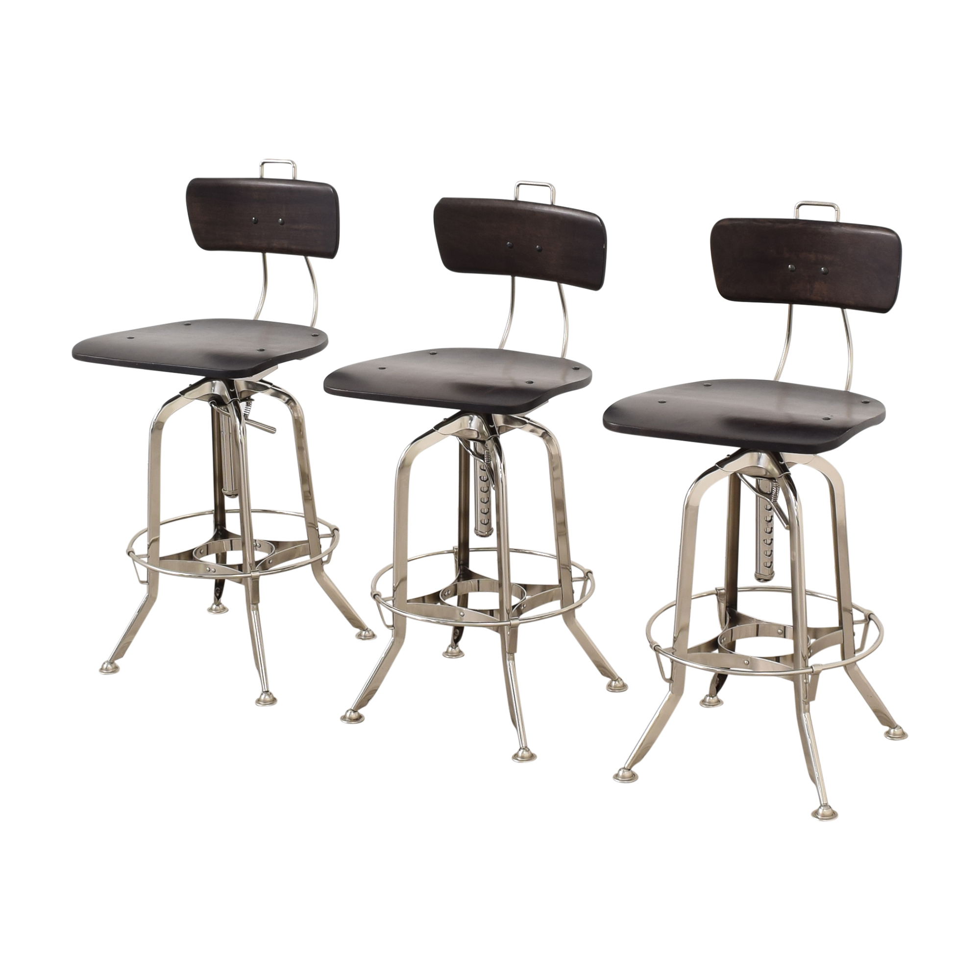 shop Restoration Hardware 1940s Vintage Toledo Bar Chairs Restoration Hardware Stools
