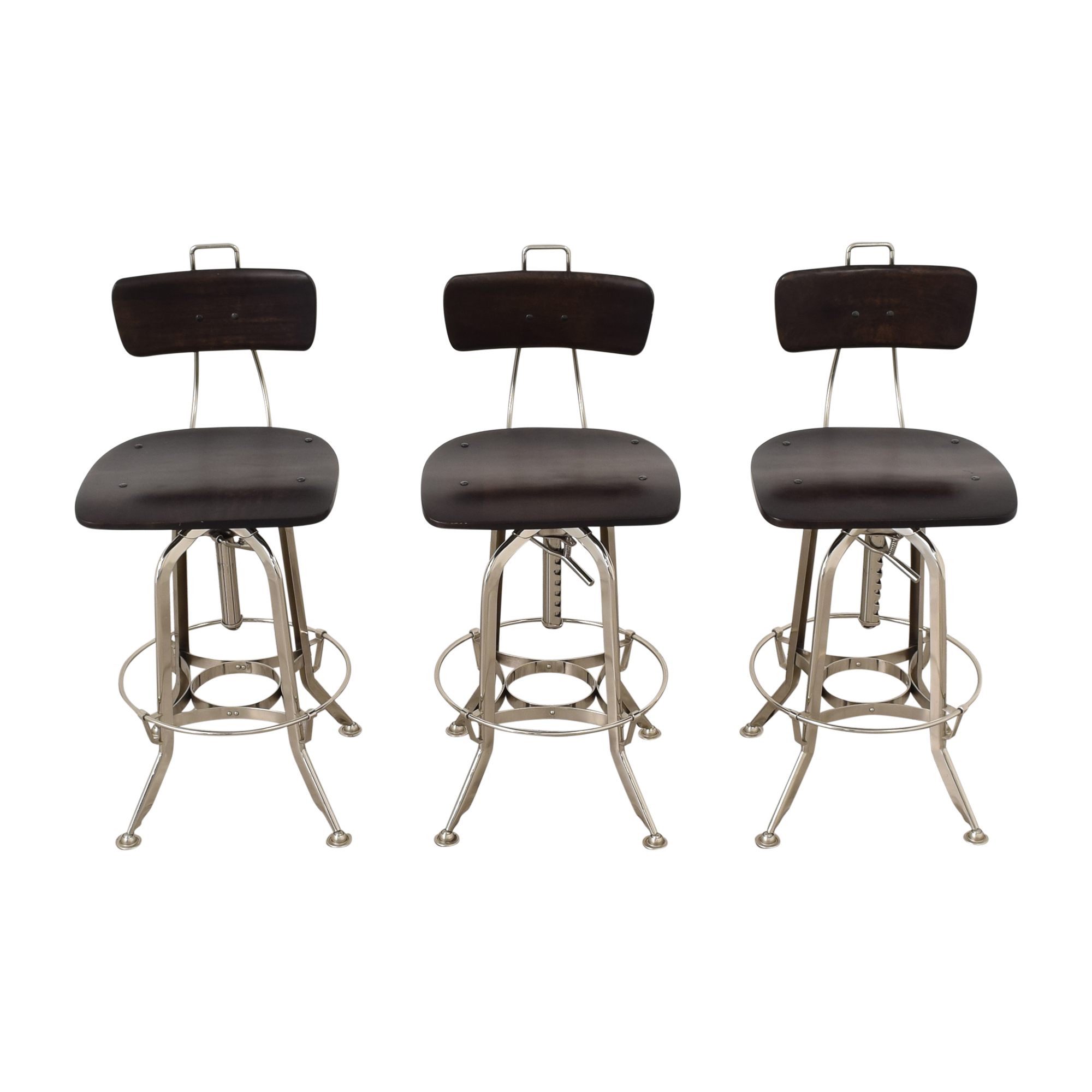 Restoration Hardware 1940s Vintage Toledo Bar Chairs Restoration Hardware