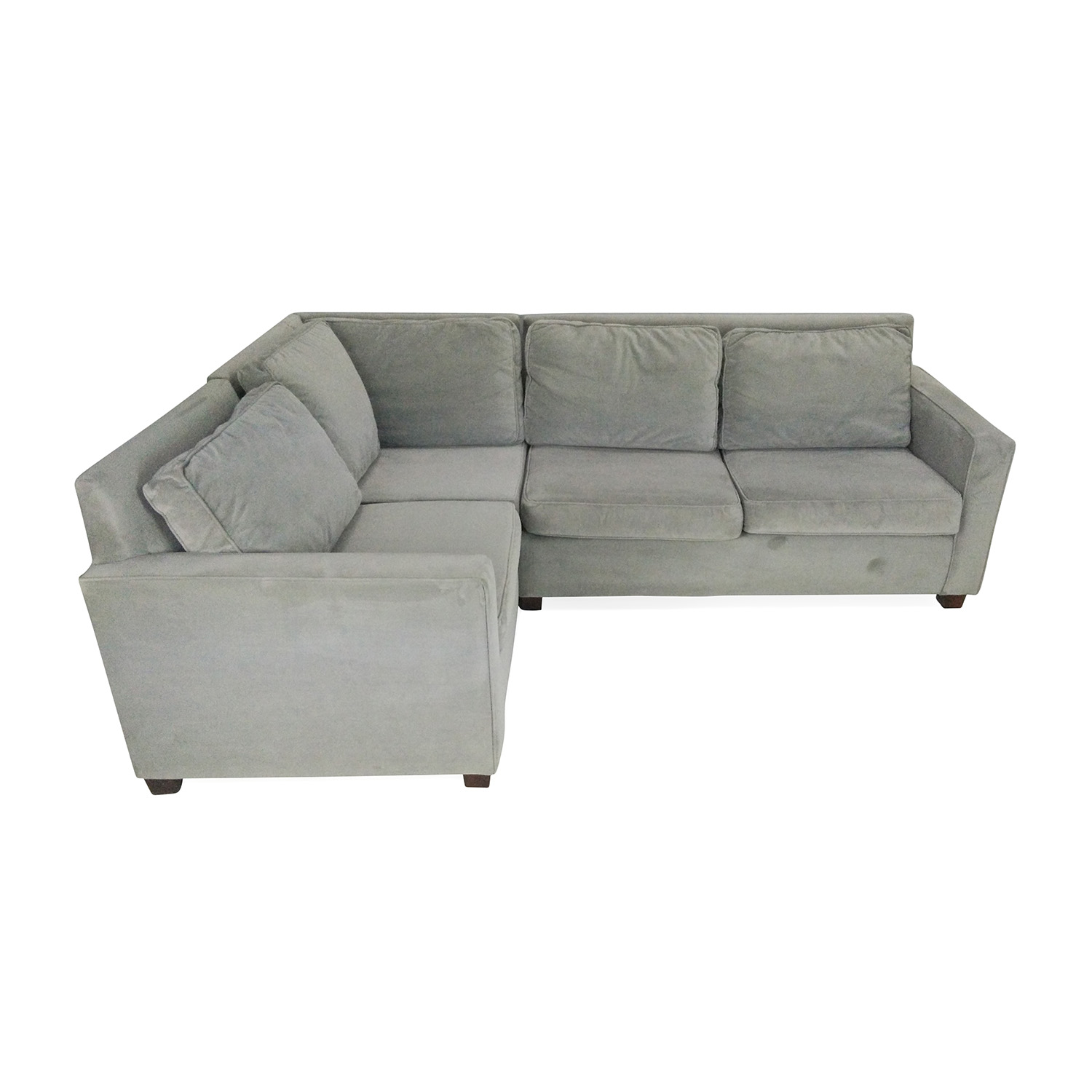 shop west elm henry 3piece sectional west elm