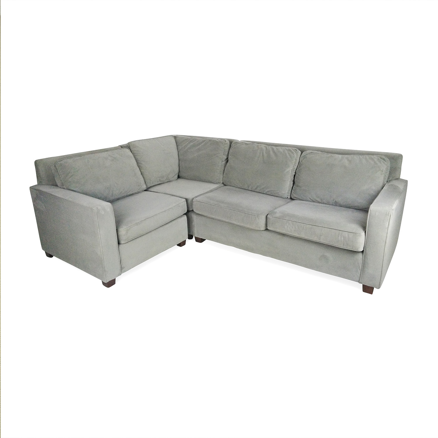 49 Off West Elm West Elm Henry 3 Piece Sectional Sofas