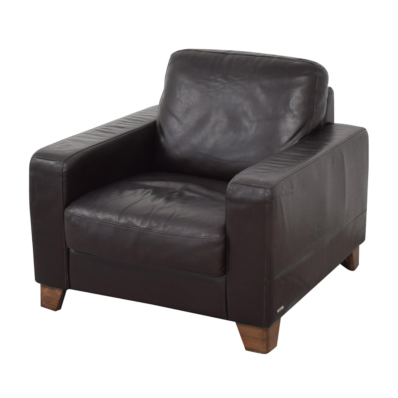 buy Natuzzi Black Leather Chair Natuzzi Chairs