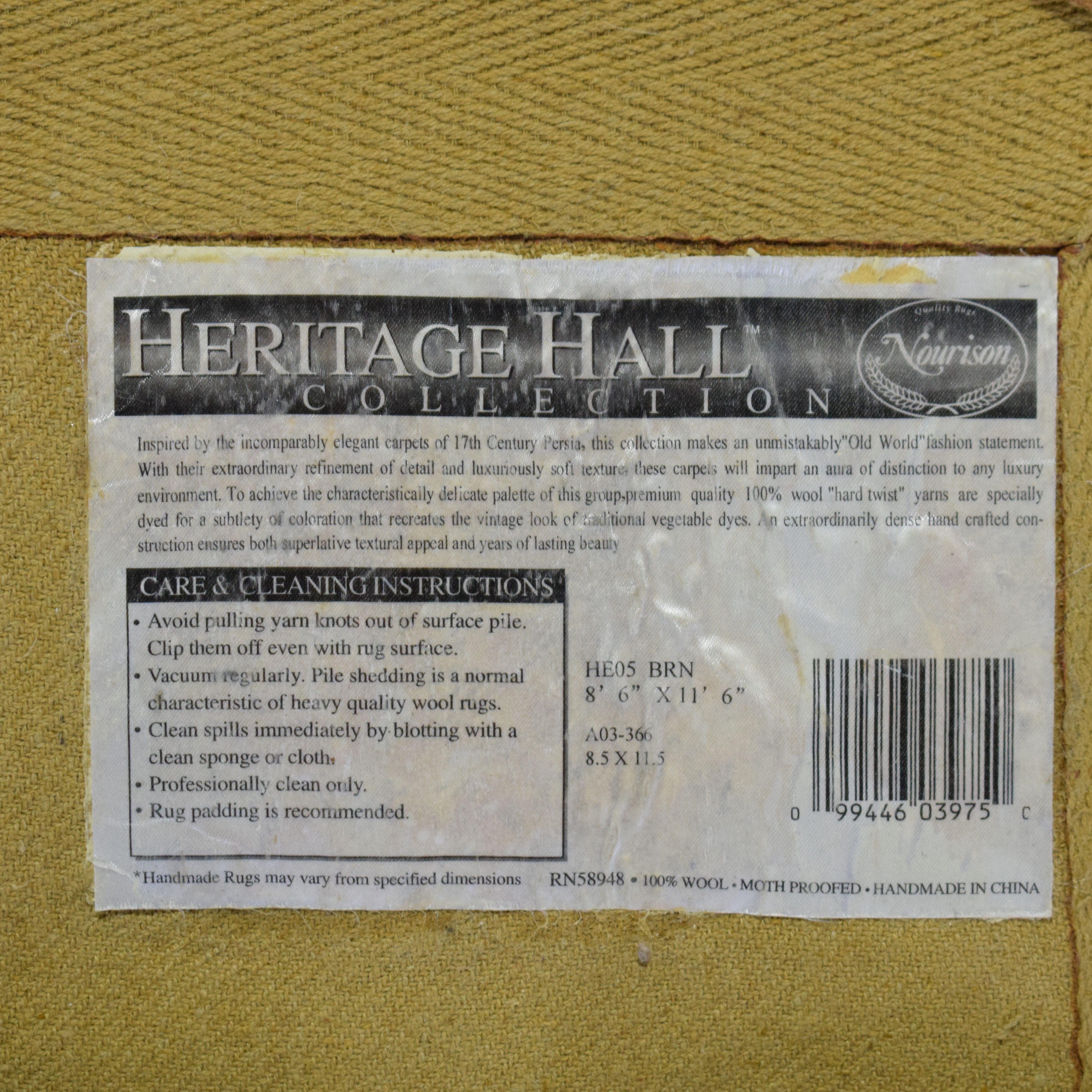 buy Nourison Heritage Hall Collection Area Rug Nourison Rugs