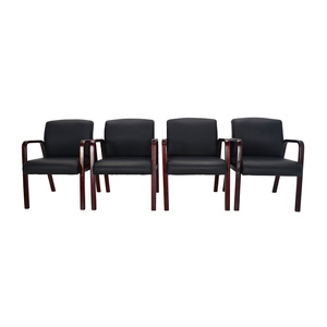 Set of 4 Office Chairs Office Max