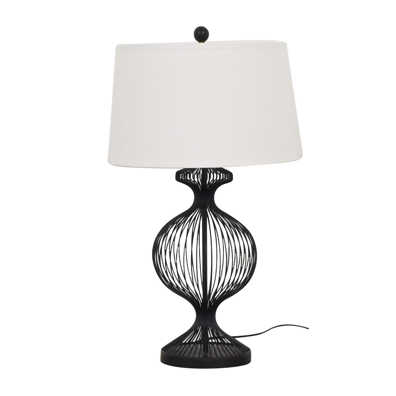 Ethan Allen Ethan Allen Kenzie Cage Table Lamp ct