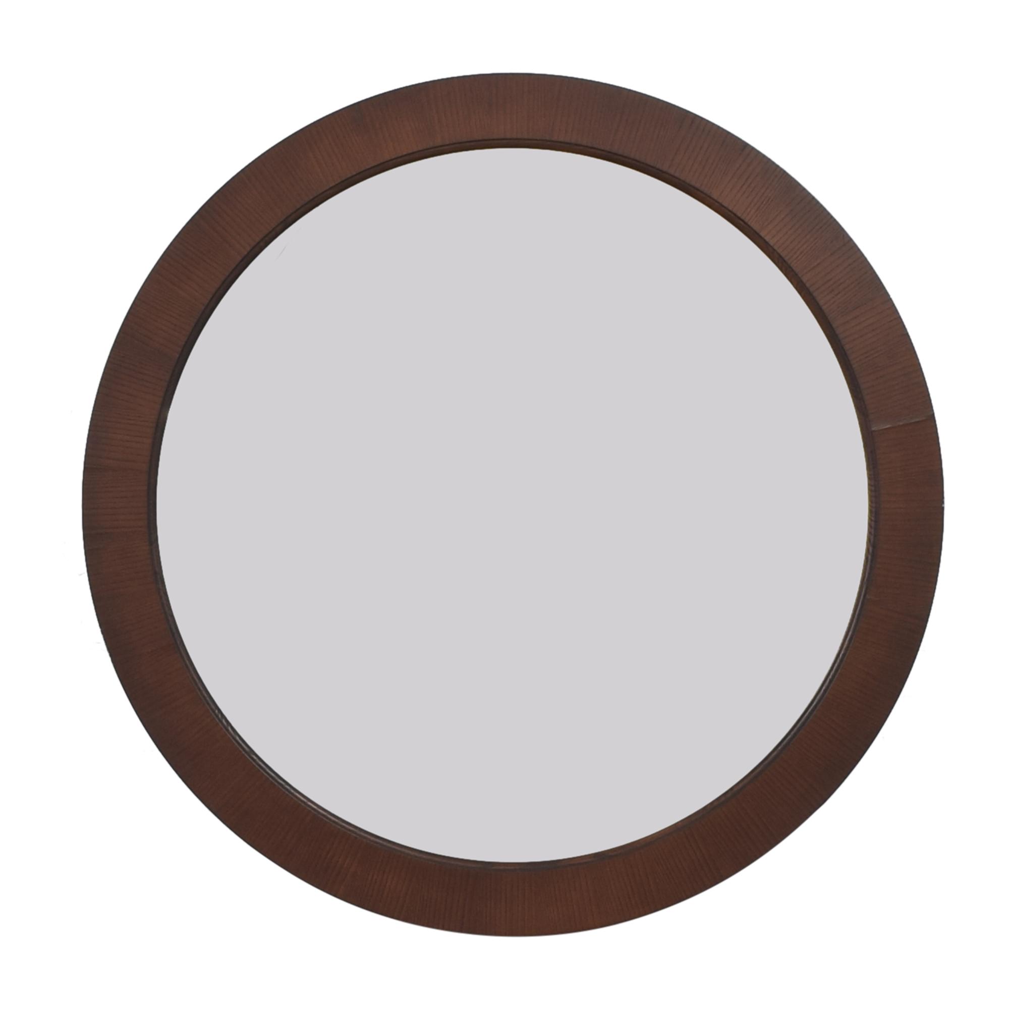 Ethan Allen Horizons Round Mirror / Mirrors