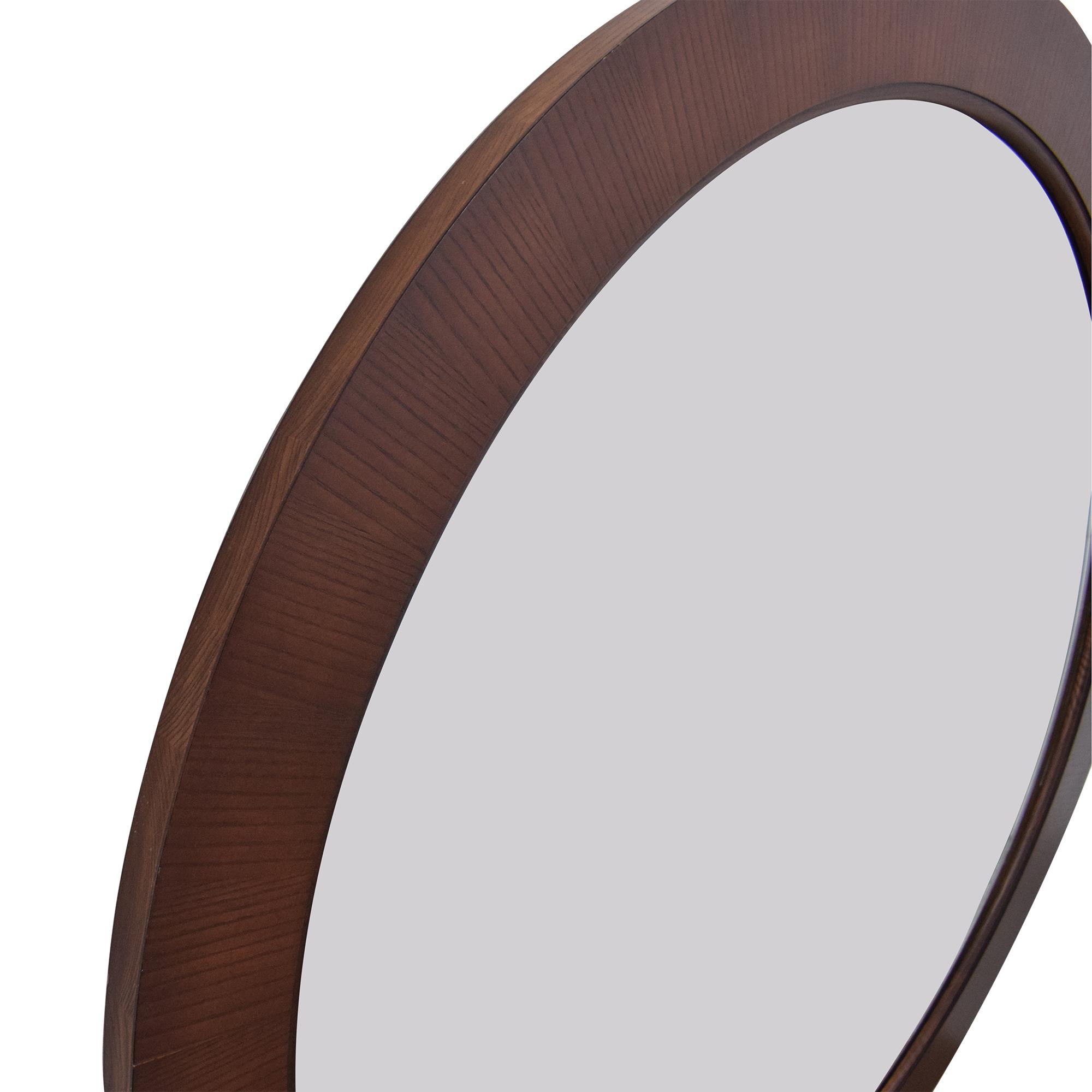 buy Ethan Allen Horizons Round Mirror Ethan Allen