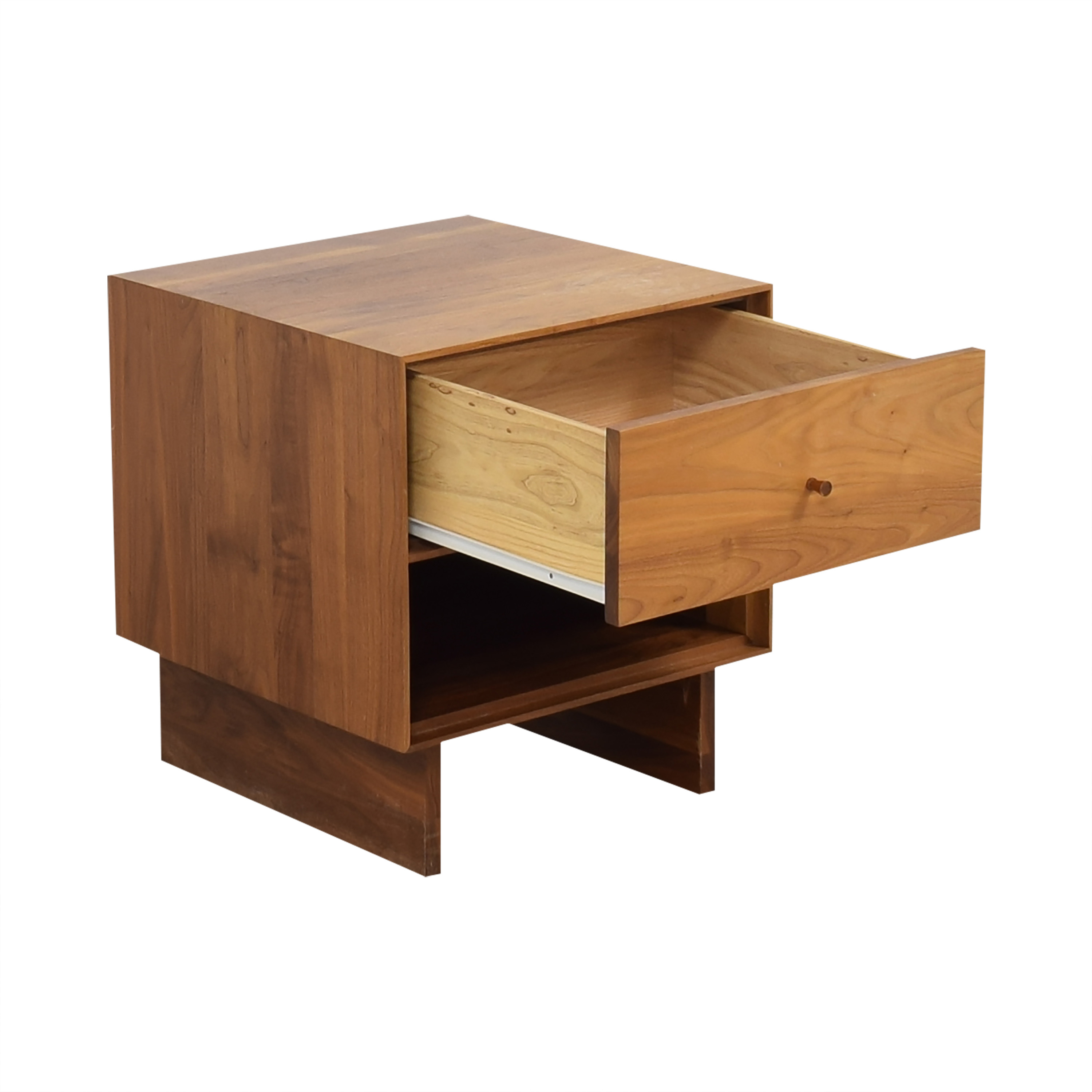 Room & Board Room & Board Hudson One-Drawer Nightstand with Wood Base for sale