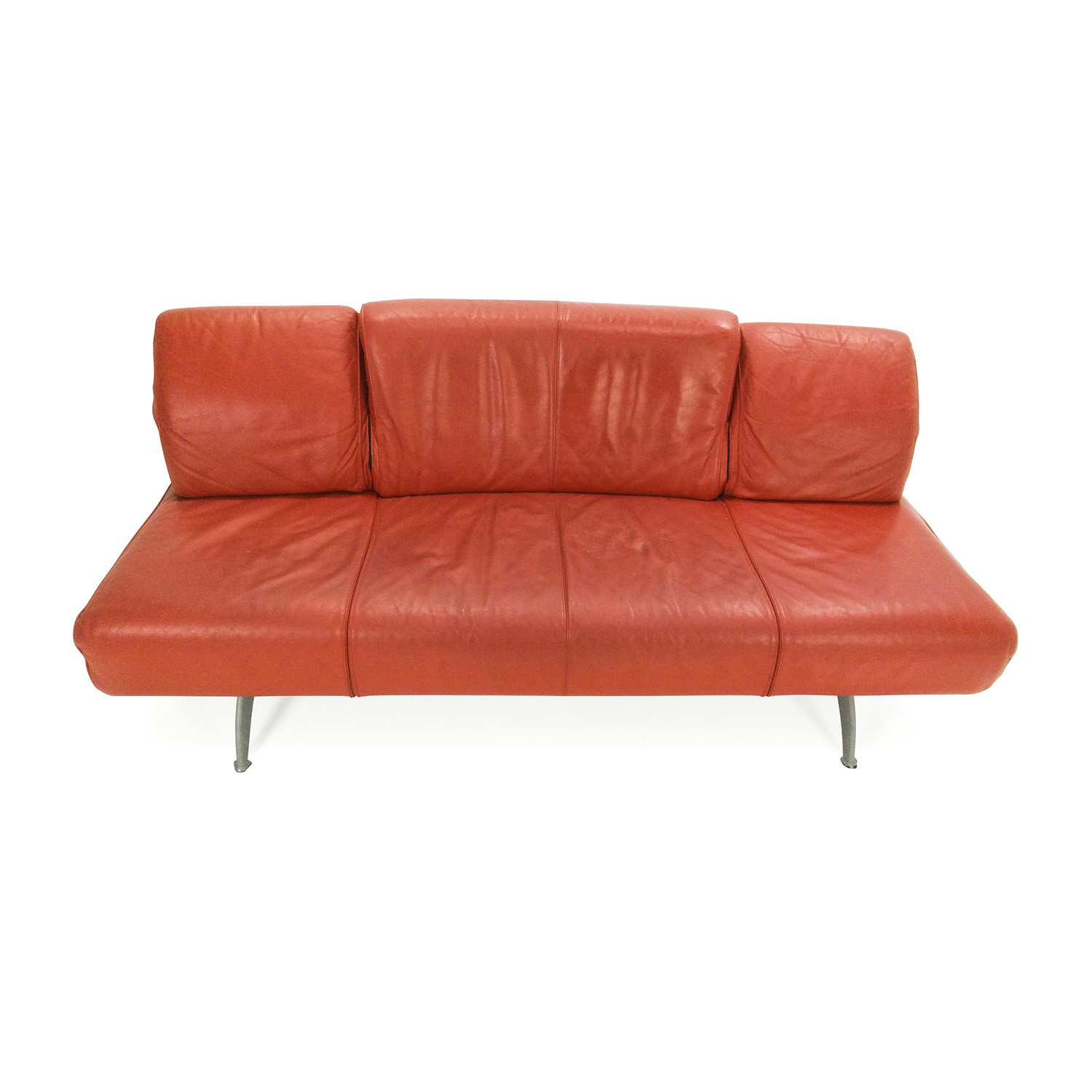 ... Team By Wellis Team By Wellis Red Leather Sofa Dimensions ...