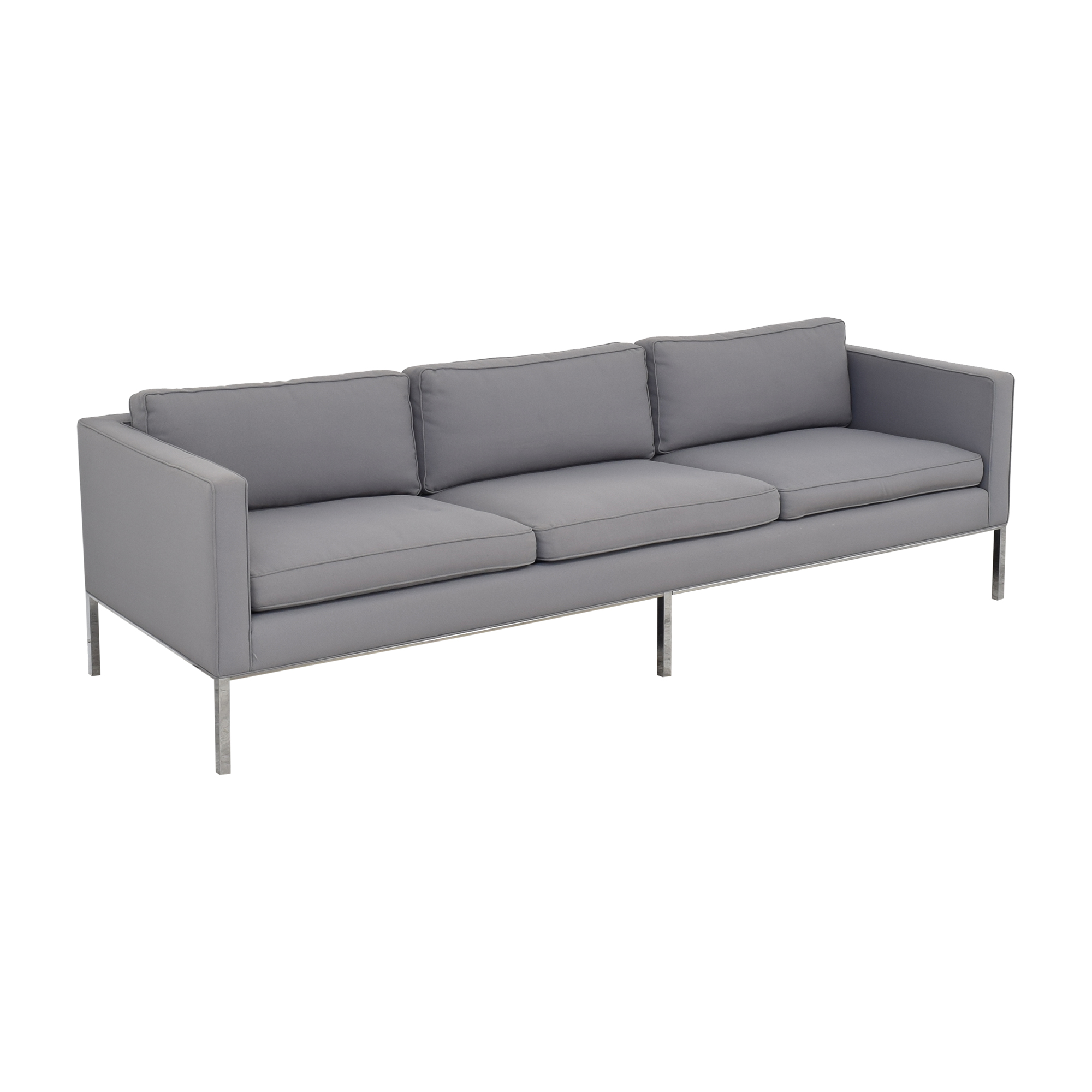 Artifort Artifort 905 3 Seater Sofa with 905 Ottoman grey