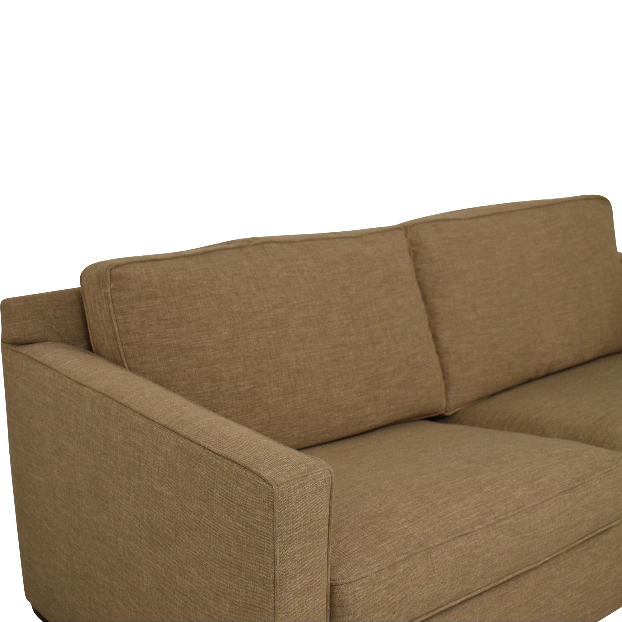 Crate & Barrel Crate & Barrel Axis II 2-Seat Queen Sleeper Sofa on sale