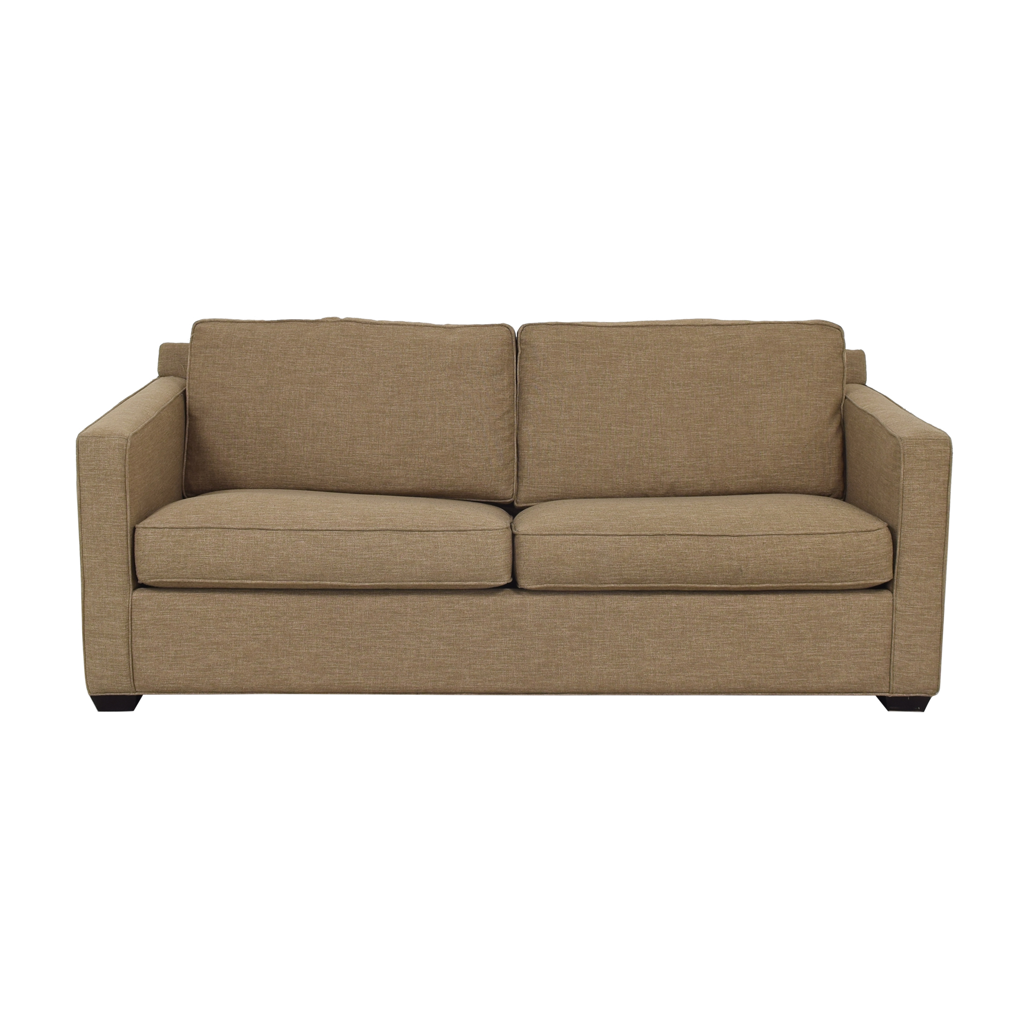 Crate & Barrel Crate & Barrel Axis II 2-Seat Queen Sleeper Sofa dimensions