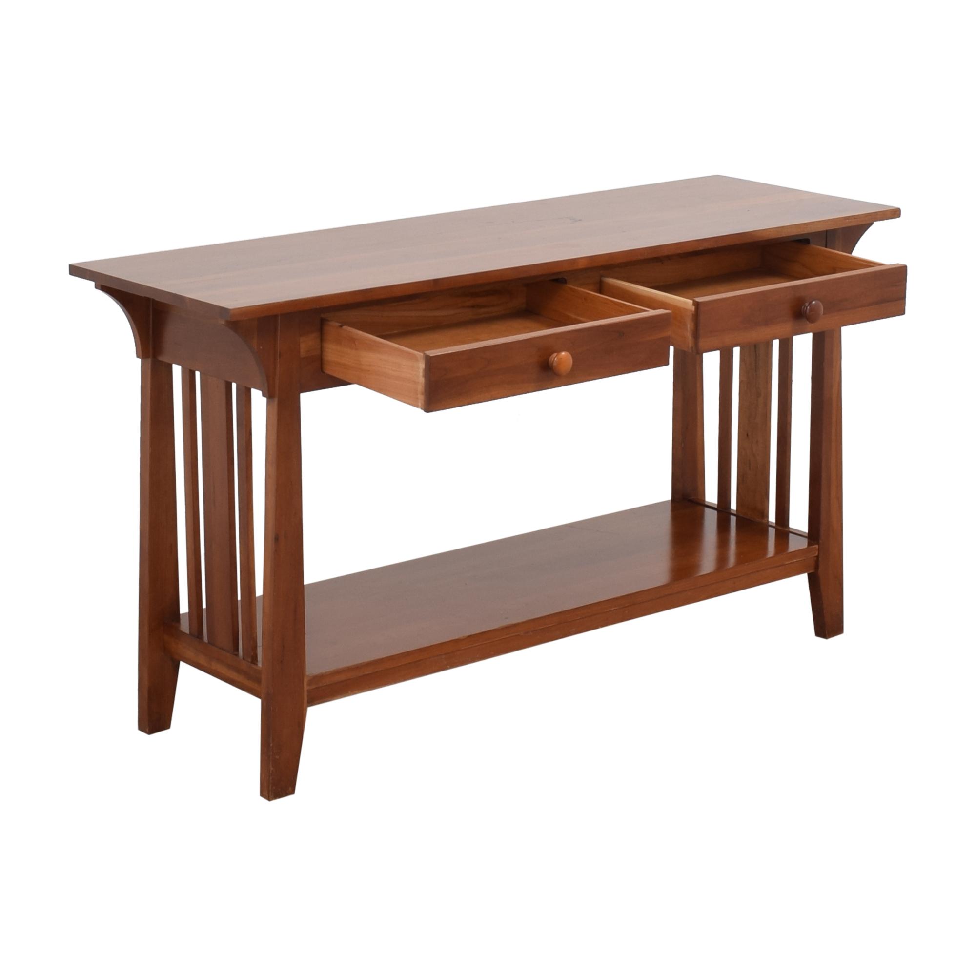 buy Ethan Allen Peter Sofa Table Ethan Allen Accent Tables