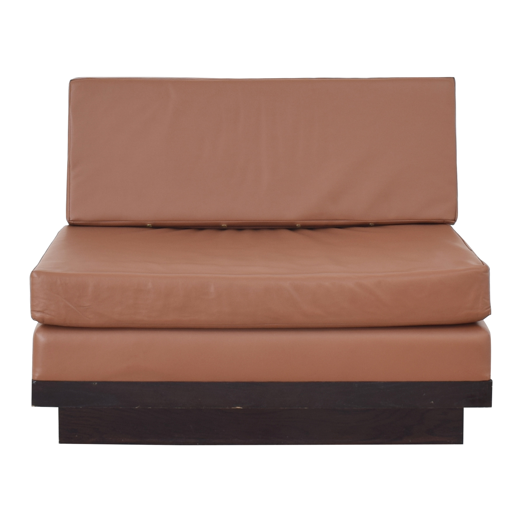 Armless Loveseat price
